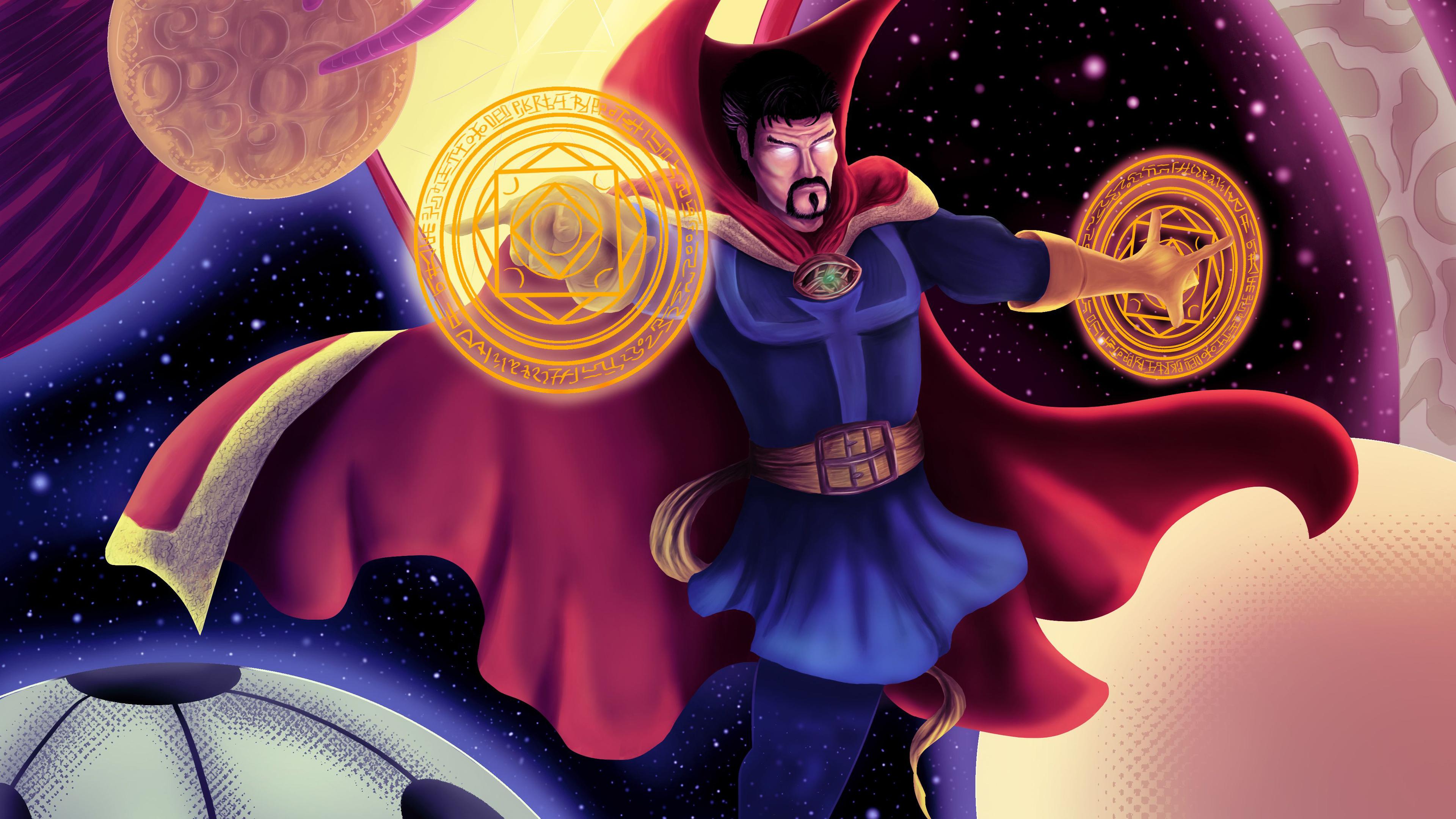 Wallpaper 4k Mystic Art Doctor Strange 4k 4k Wallpapers