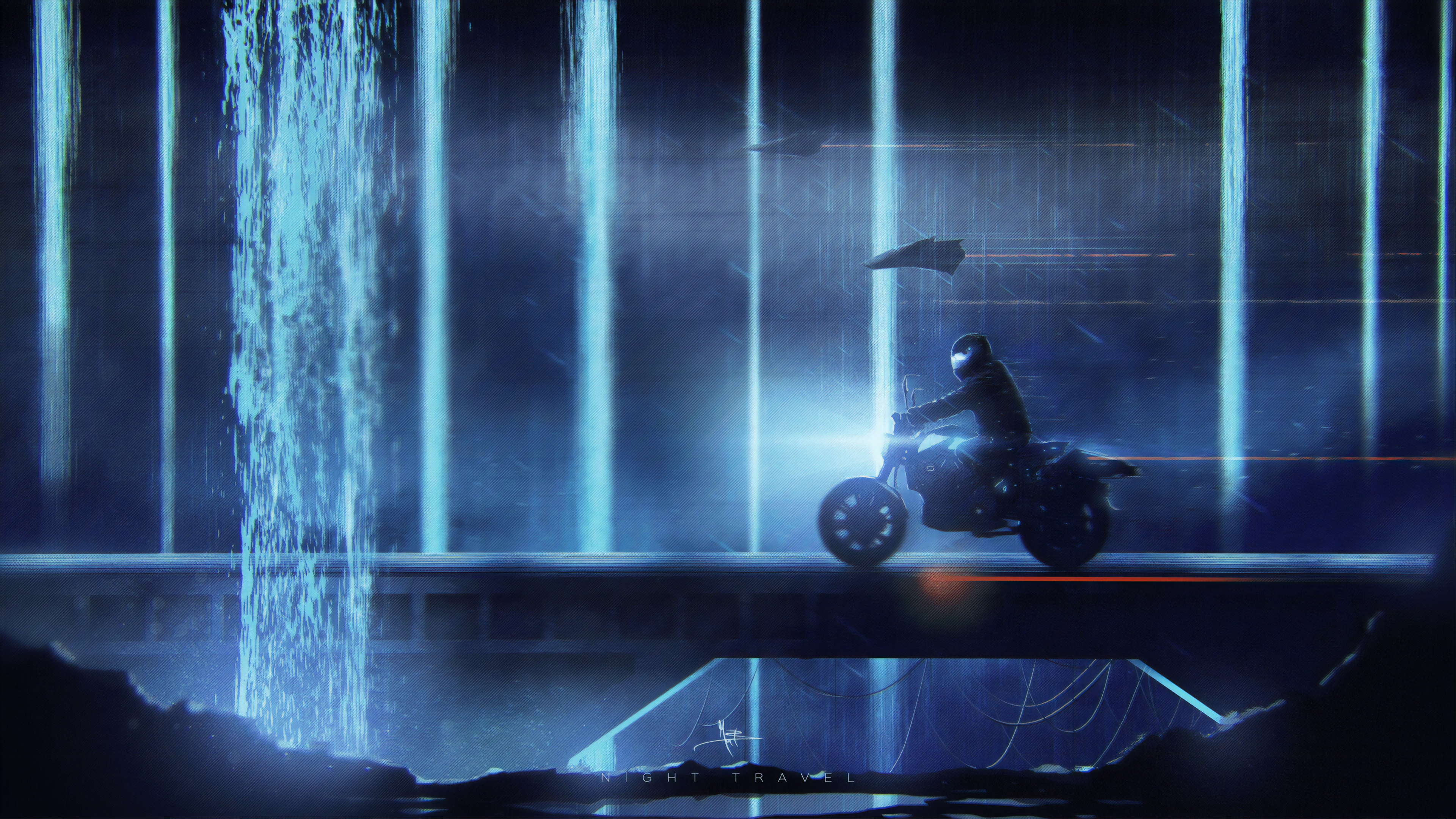 night travel 4k 1560535666 - Night Travel 4k - hd-wallpapers, digital art wallpapers, biker wallpapers, artwork wallpapers, artstation wallpapers, artist wallpapers, 4k-wallpapers