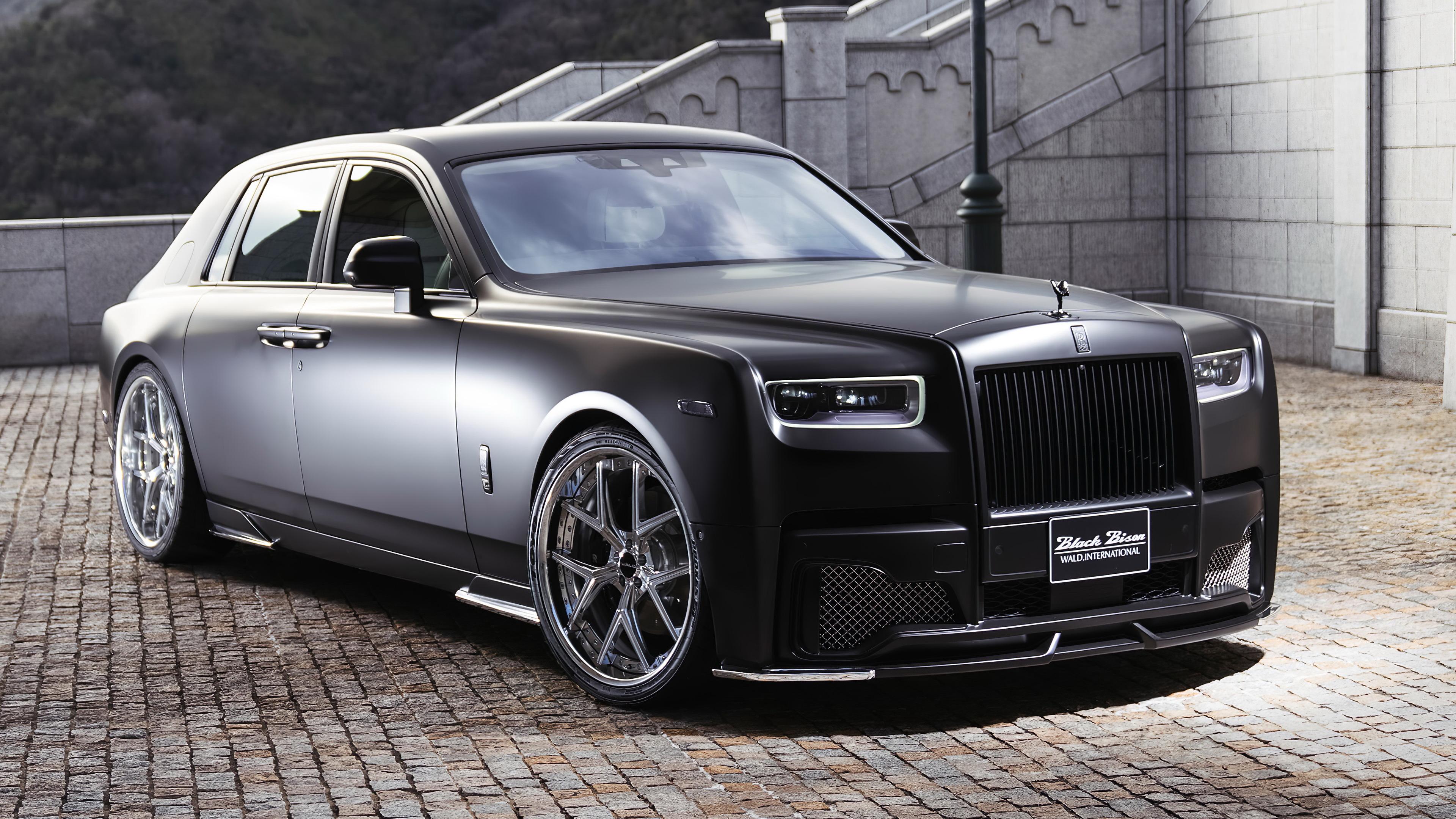 rolls royce phantom sports line black bison edition 2019 4k 1560534301 - Rolls Royce Phantom Sports Line Black Bison Edition 2019 4k - rolls royce wraith wallpapers, rolls royce wallpapers, hd-wallpapers, cars wallpapers, 4k-wallpapers