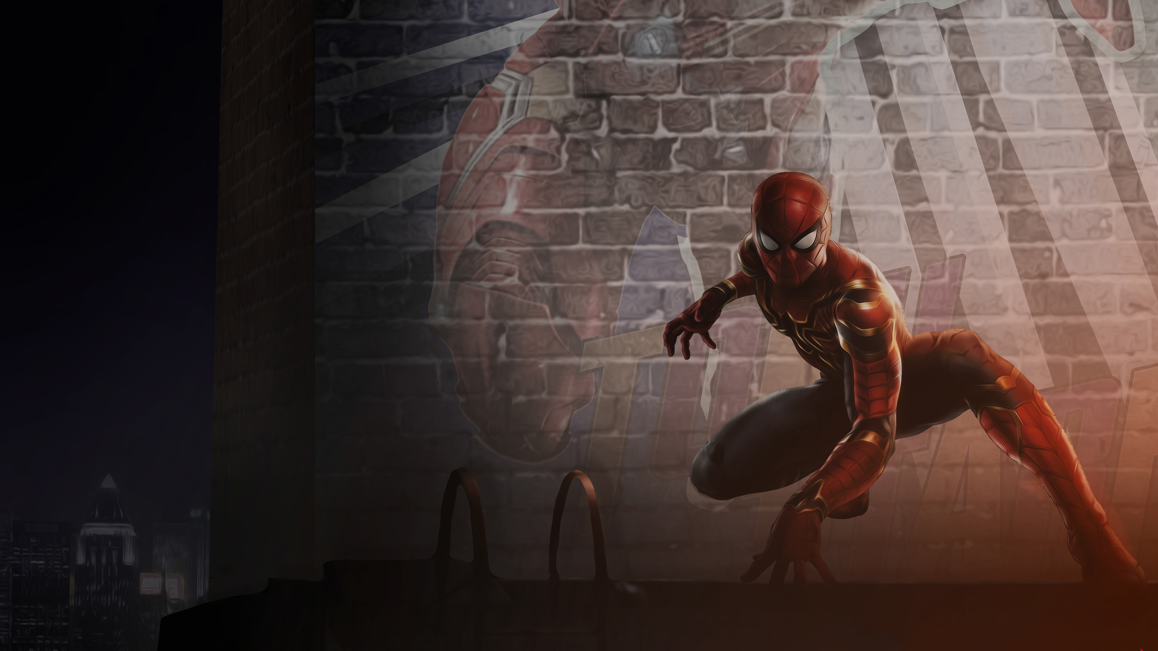 Wallpaper 4k Spider Man Far From Home 2019 4k 2019 Movies