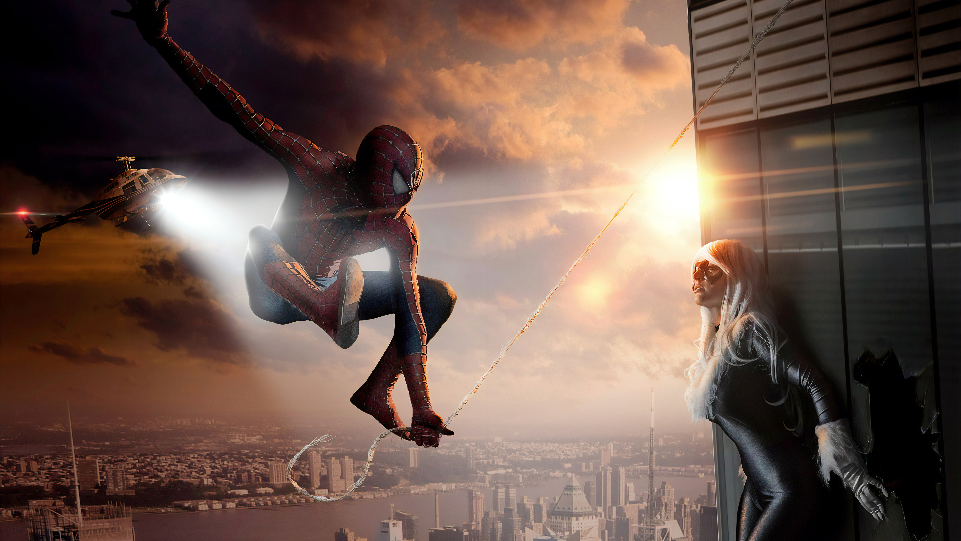 spiderman and catwoman cosplay 1560533721 - Spiderman And Catwoman Cosplay - superheroes wallpapers, spiderman wallpapers, hd-wallpapers, cosplay wallpapers, catwoman wallpapers, behance wallpapers, 4k-wallpapers