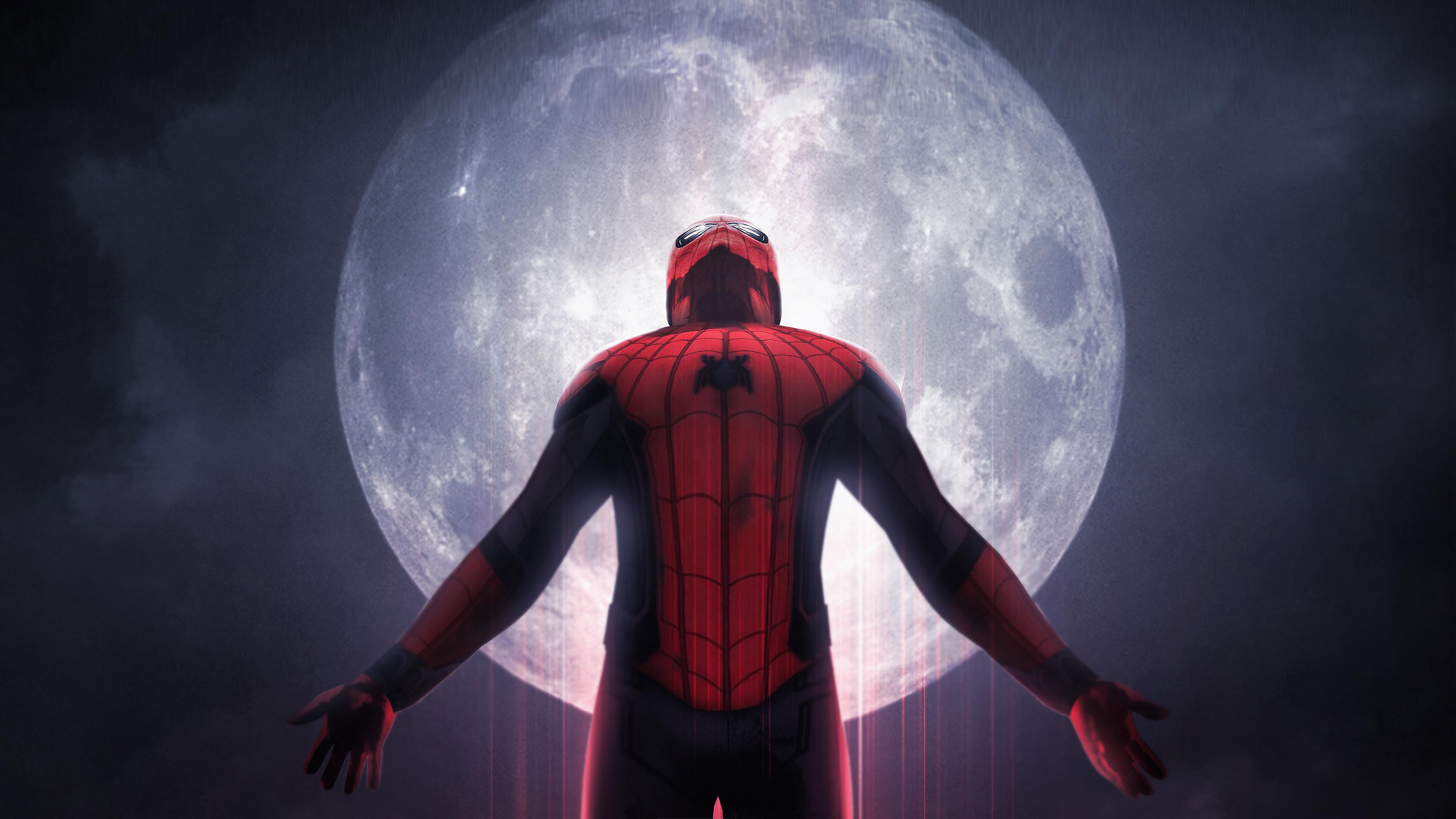 Wallpaper 4k Spiderman Far From Home Art 4k 4k Wallpapers