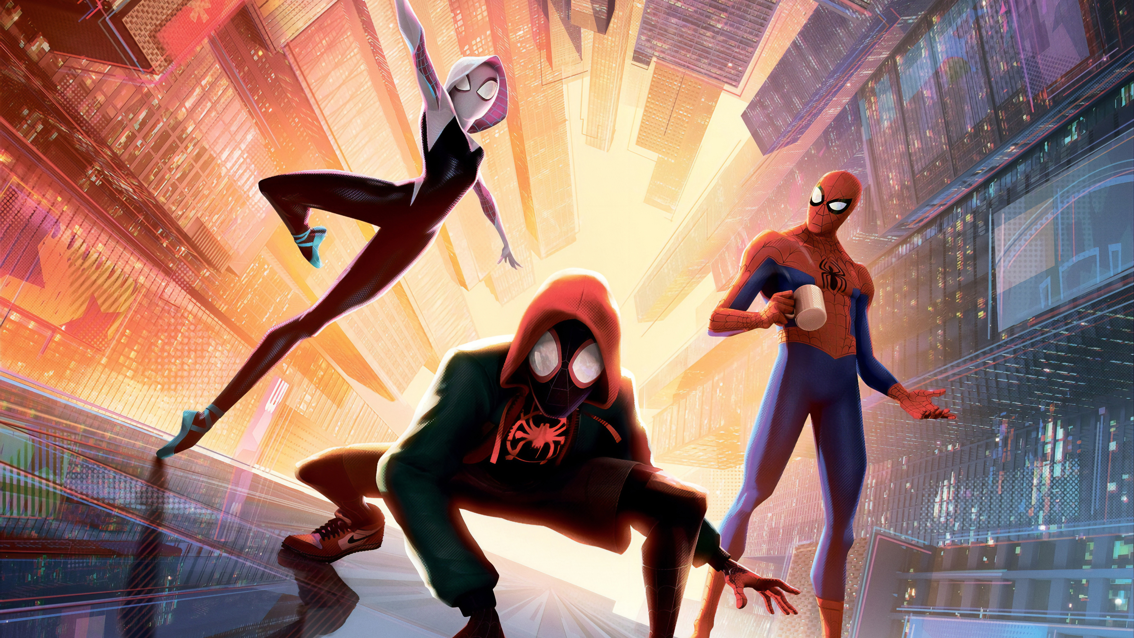 spiderman into the spider verse new new 4k 1560535170 - SpiderMan Into The Spider Verse New New 4k - spiderman wallpapers, spiderman into the spider verse wallpapers, movies wallpapers, hd-wallpapers, animated movies wallpapers, 4k-wallpapers, 2018-movies-wallpapers