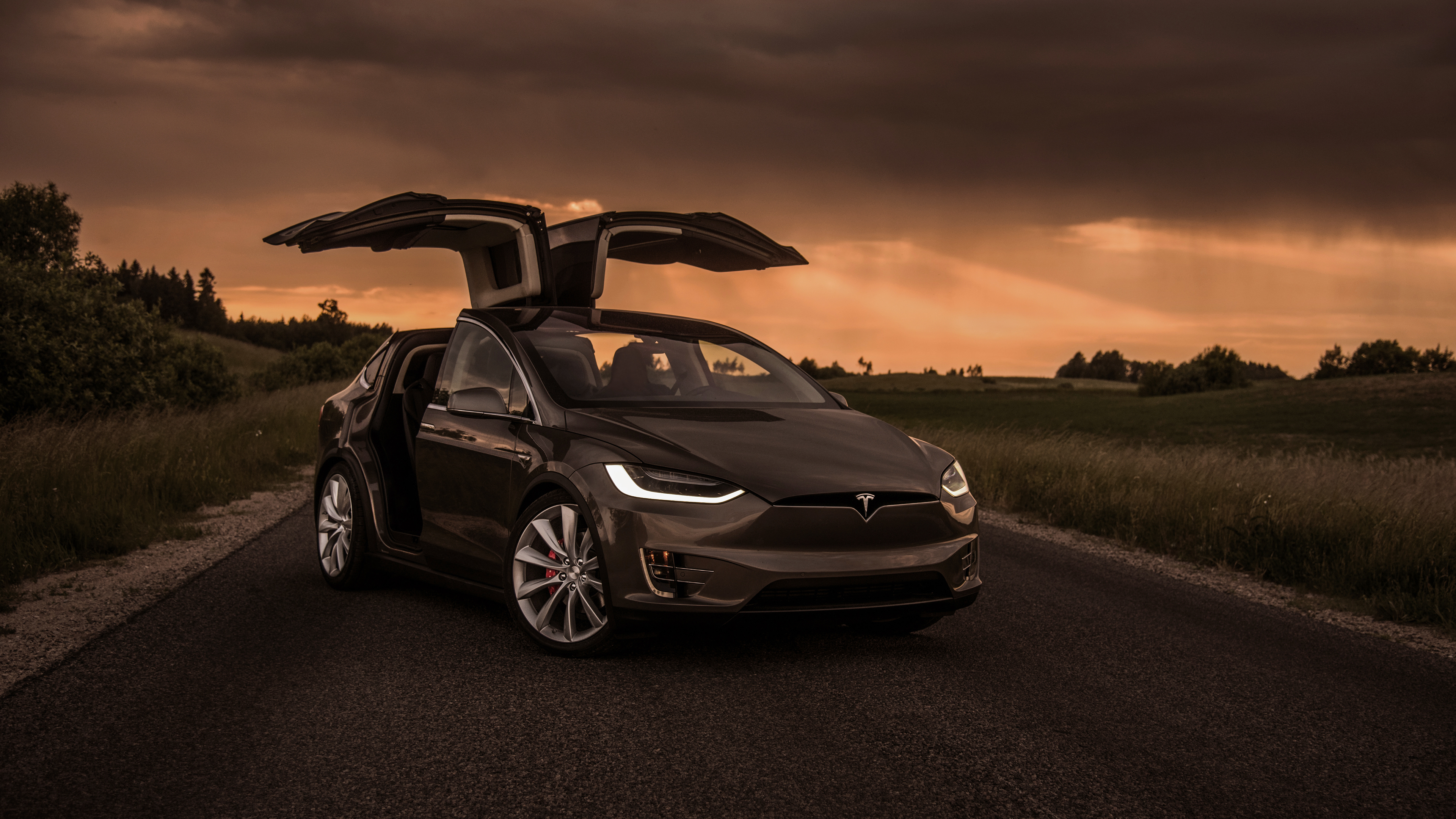 tesla model x front 1559764594 - Tesla Model X Front - tesla wallpapers, hd-wallpapers, cars wallpapers, behance wallpapers, 4k-wallpapers