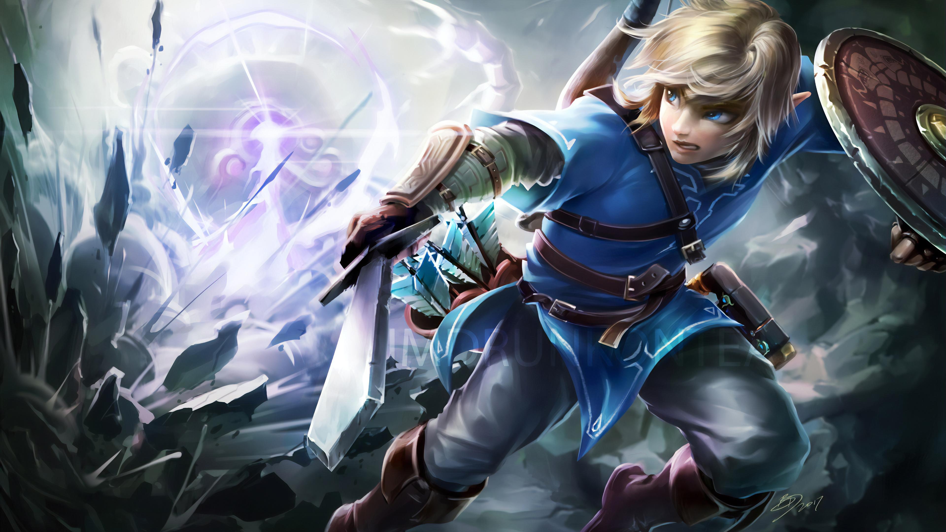 Wallpaper 4k The Legend Of Zelda Breath Of Wild 2019 Games