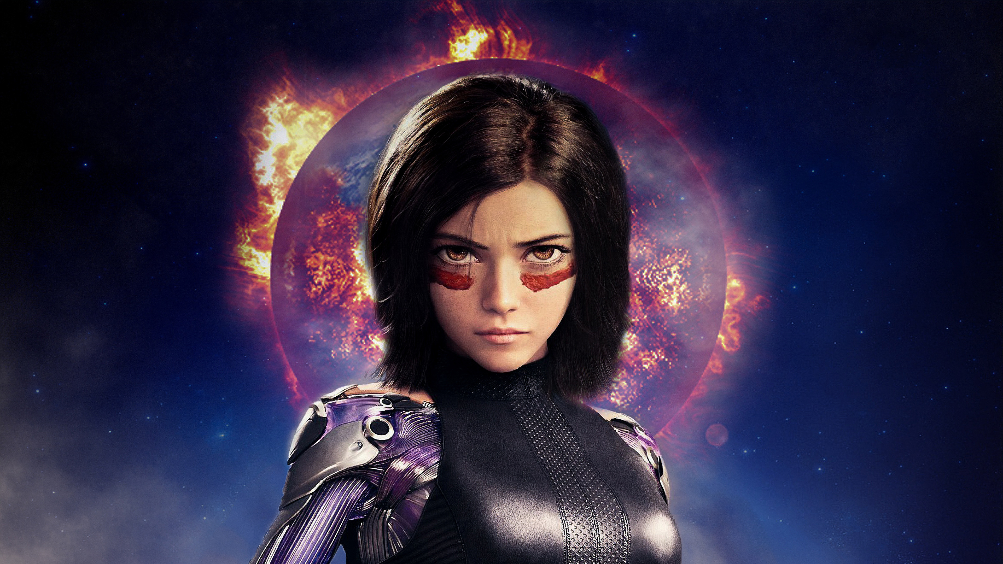 4k alita battle angel 1562107019 - 4k Alita Battle Angel - hd-wallpapers, behance wallpapers, artwork wallpapers, artist wallpapers, alita battle angel wallpapers, 4k-wallpapers
