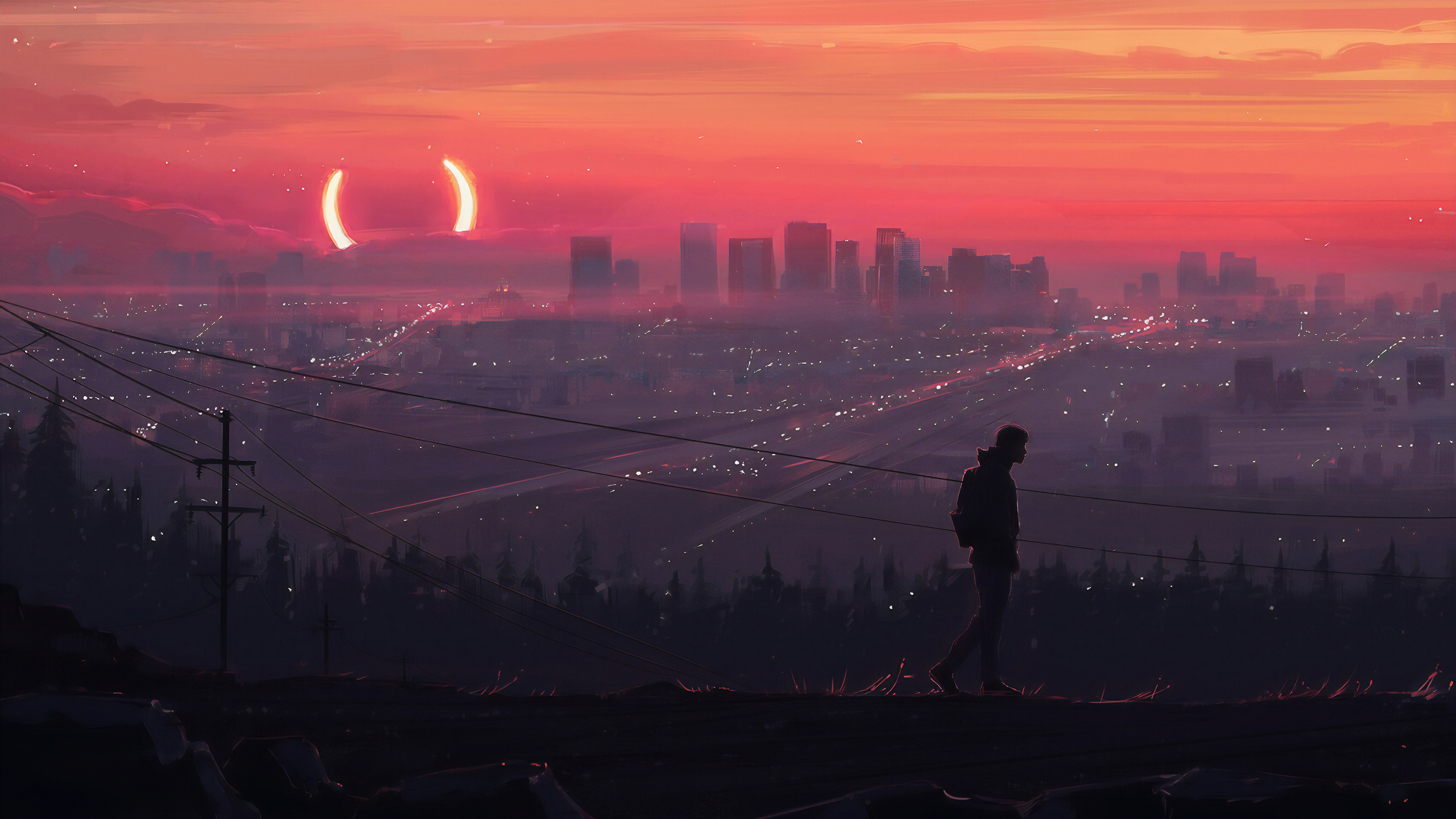 all alone 1563221930 - All Alone - sad wallpapers, hd-wallpapers, digital art wallpapers, artwork wallpapers, artstation wallpapers, artist wallpapers, alone wallpapers, 4k-wallpapers
