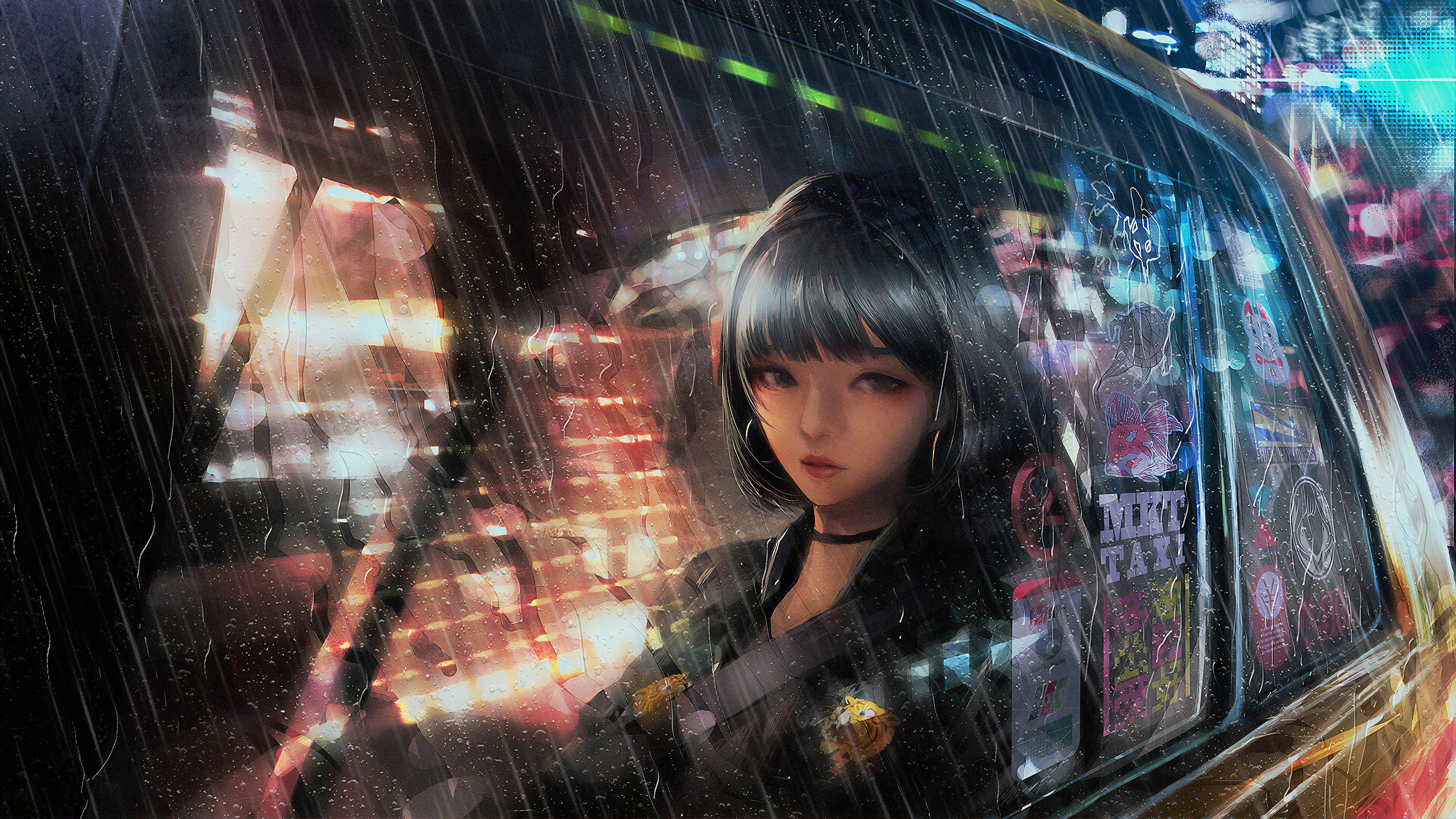 anime girl in taxi raining 1563222652 - Anime Girl In Taxi Raining - sad wallpapers, rain wallpapers, hd-wallpapers, digital art wallpapers, artwork wallpapers, artist wallpapers, anime wallpapers, anime girl wallpapers, alone wallpapers, 4k-wallpapers