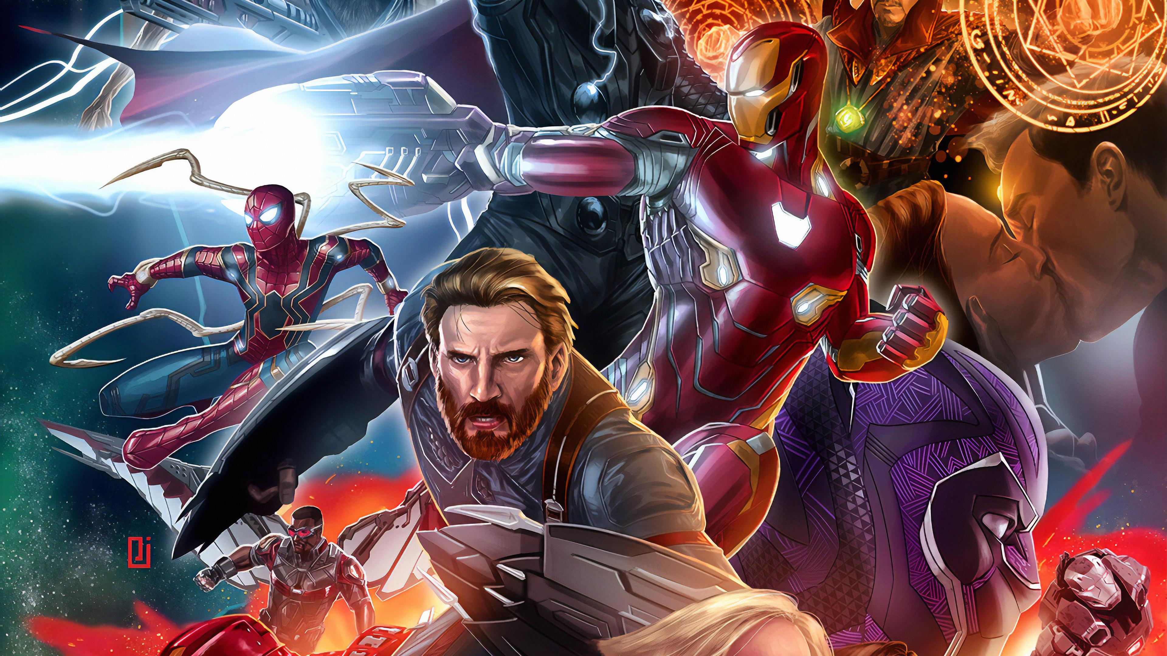 avenger assemble 1562105893 - Avenger Assemble - superheroes wallpapers, hd-wallpapers, avengers endgame wallpapers, artwork wallpapers, 4k-wallpapers