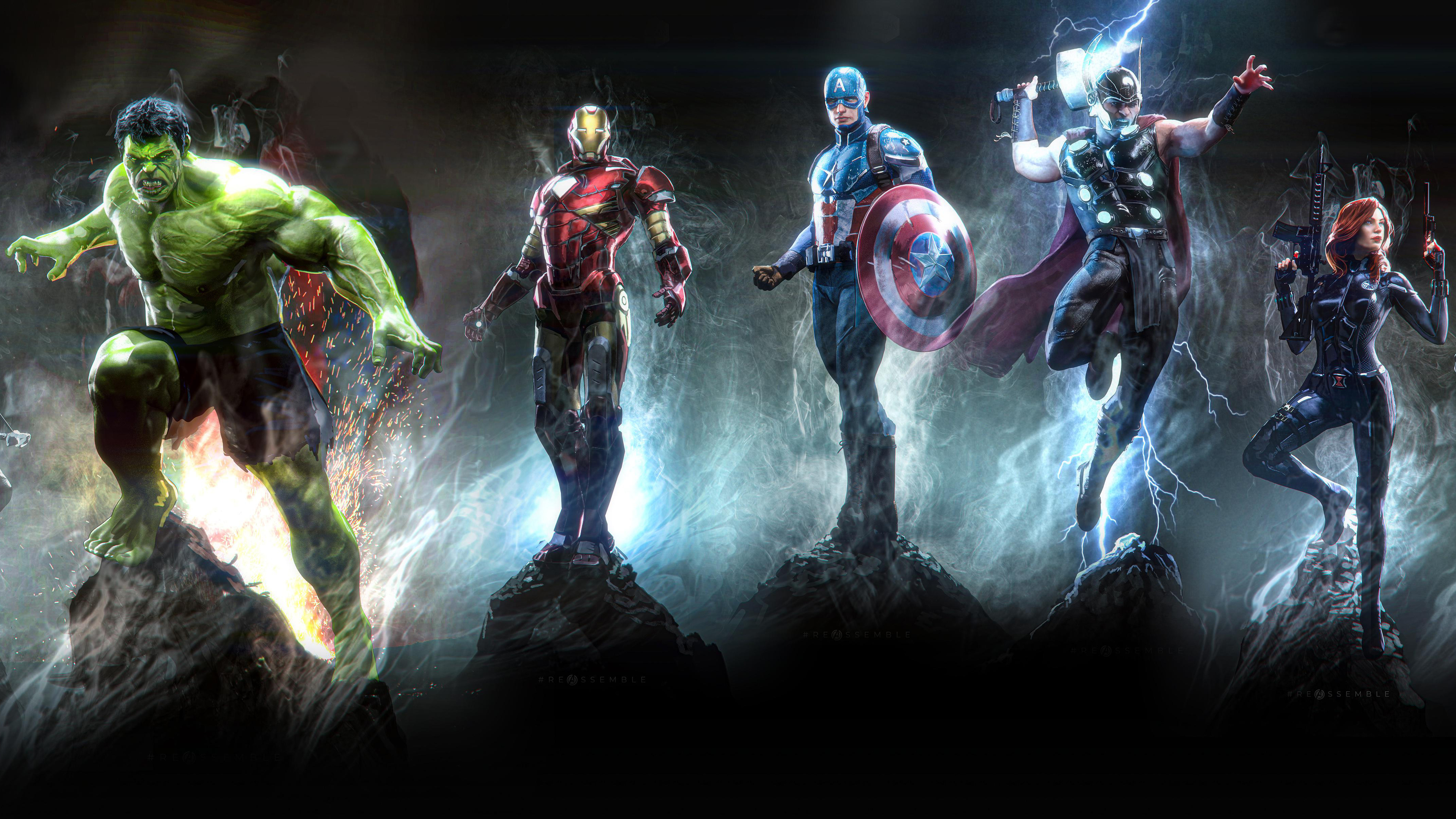 Avengers Wallpaper Hd Pc