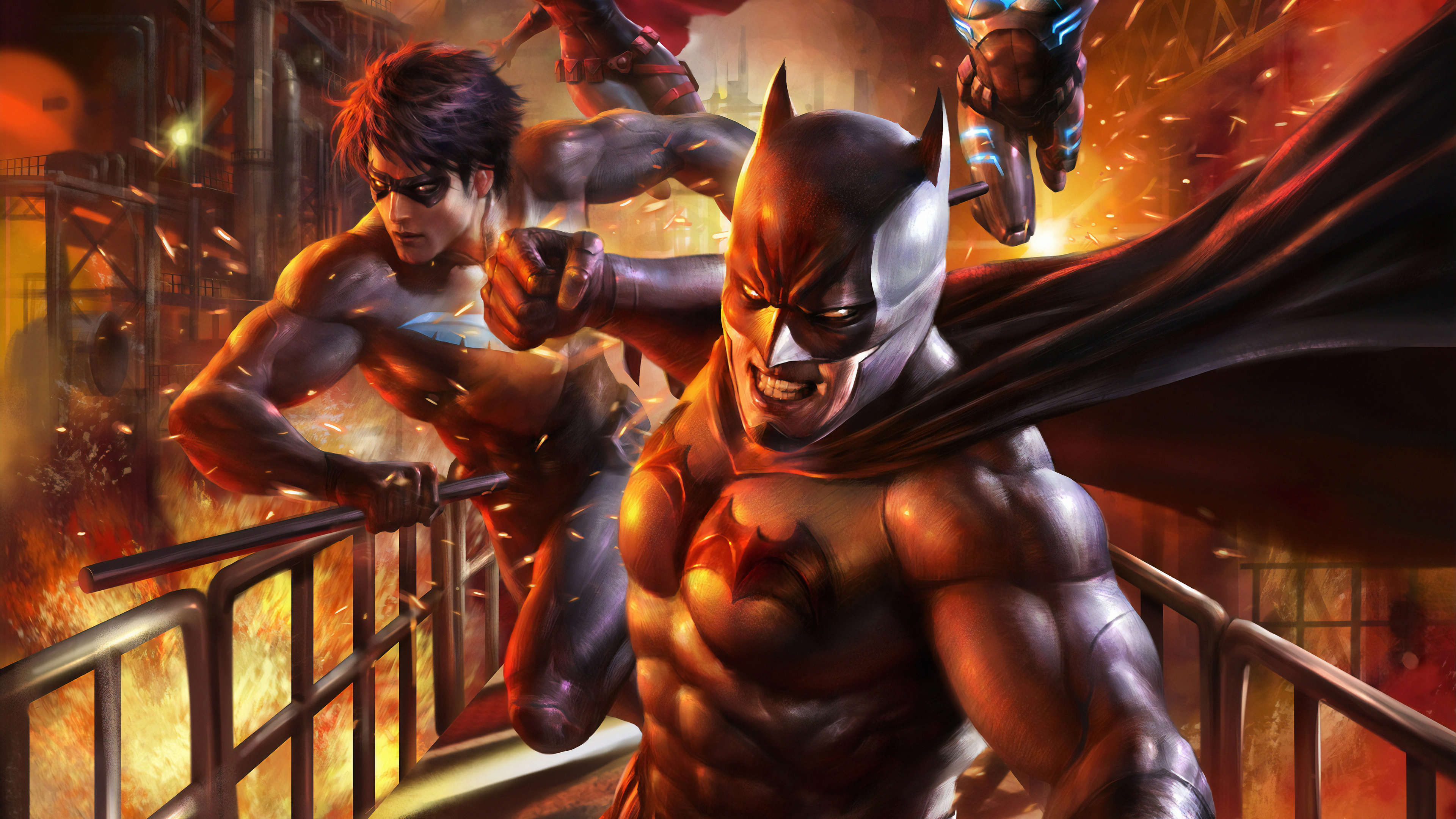 batman and nightwing 1562106237 - Batman And Nightwing - superheroes wallpapers, robin wallpapers, nightwing wallpapers, hd-wallpapers, batman wallpapers, batgirl wallpapers, artwork wallpapers, artstation wallpapers, 4k-wallpapers