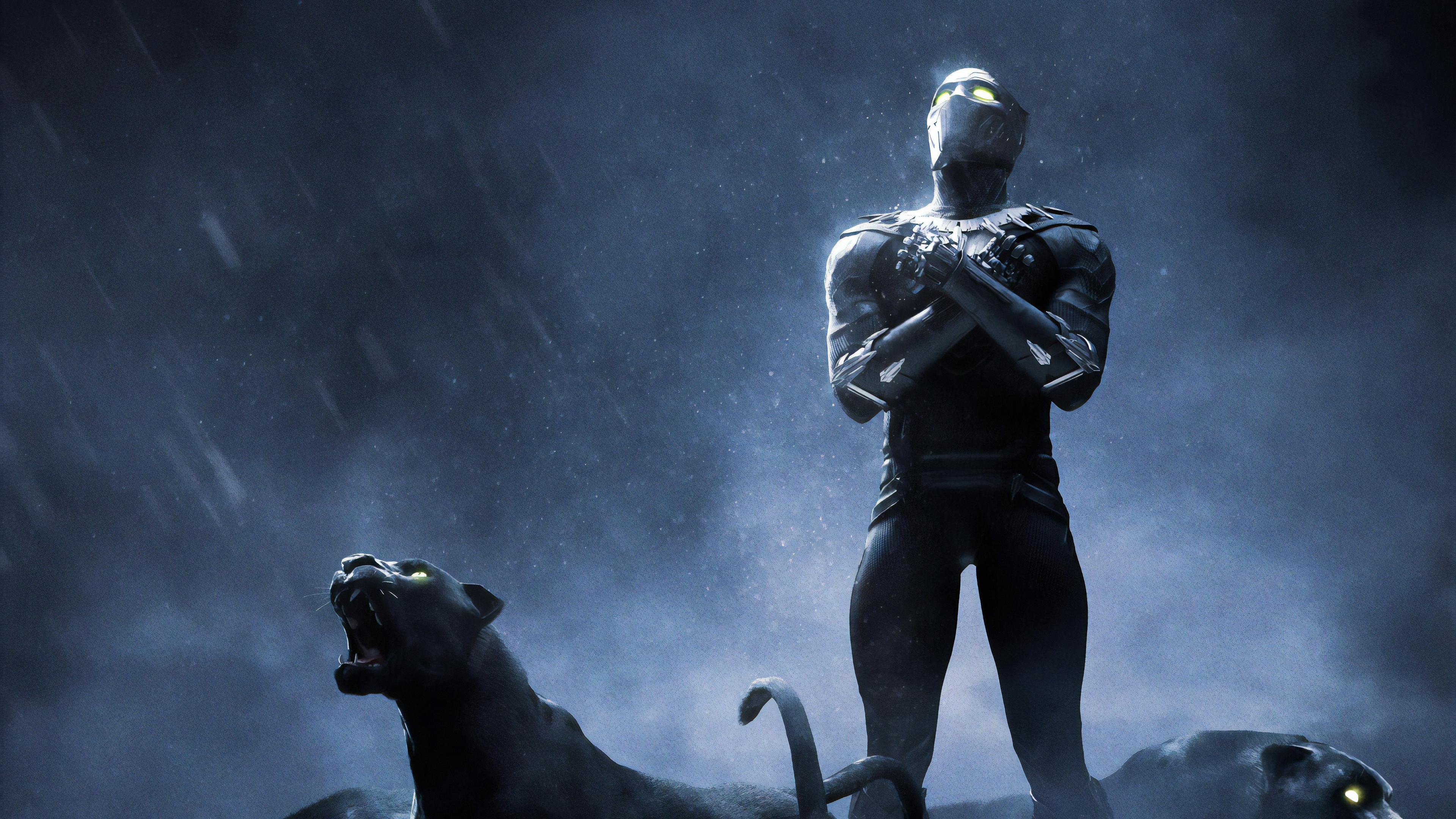 black panther 4k rise up 1562105985 - Black Panther 4k Rise Up - superheroes wallpapers, hd-wallpapers, black panther wallpapers, artwork wallpapers, artstation wallpapers, 4k-wallpapers