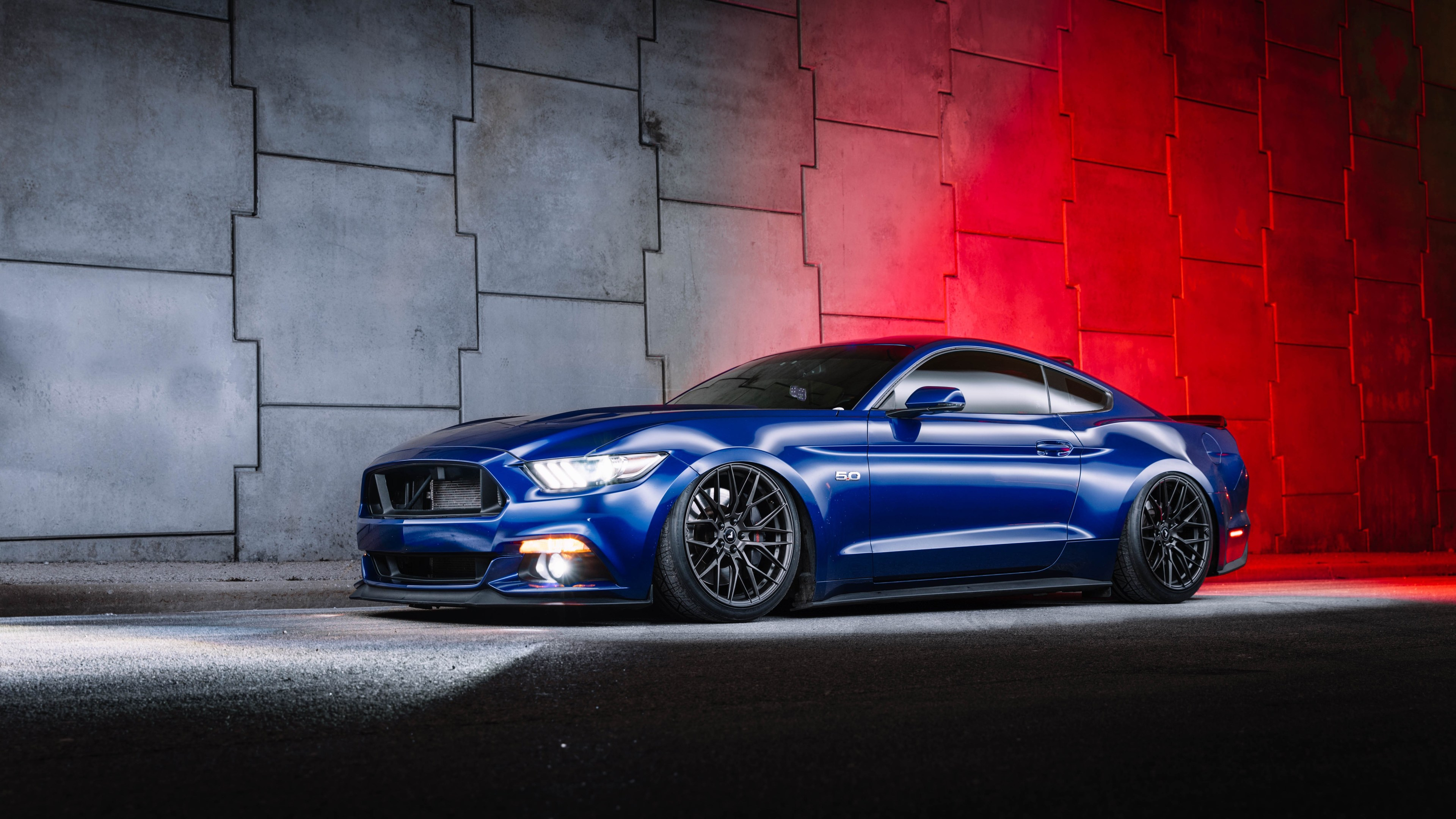 blue ford mustang 1562107958 - Blue Ford Mustang - hd-wallpapers, ford wallpapers, ford mustang wallpapers, cars wallpapers, 5k wallpapers, 4k-wallpapers