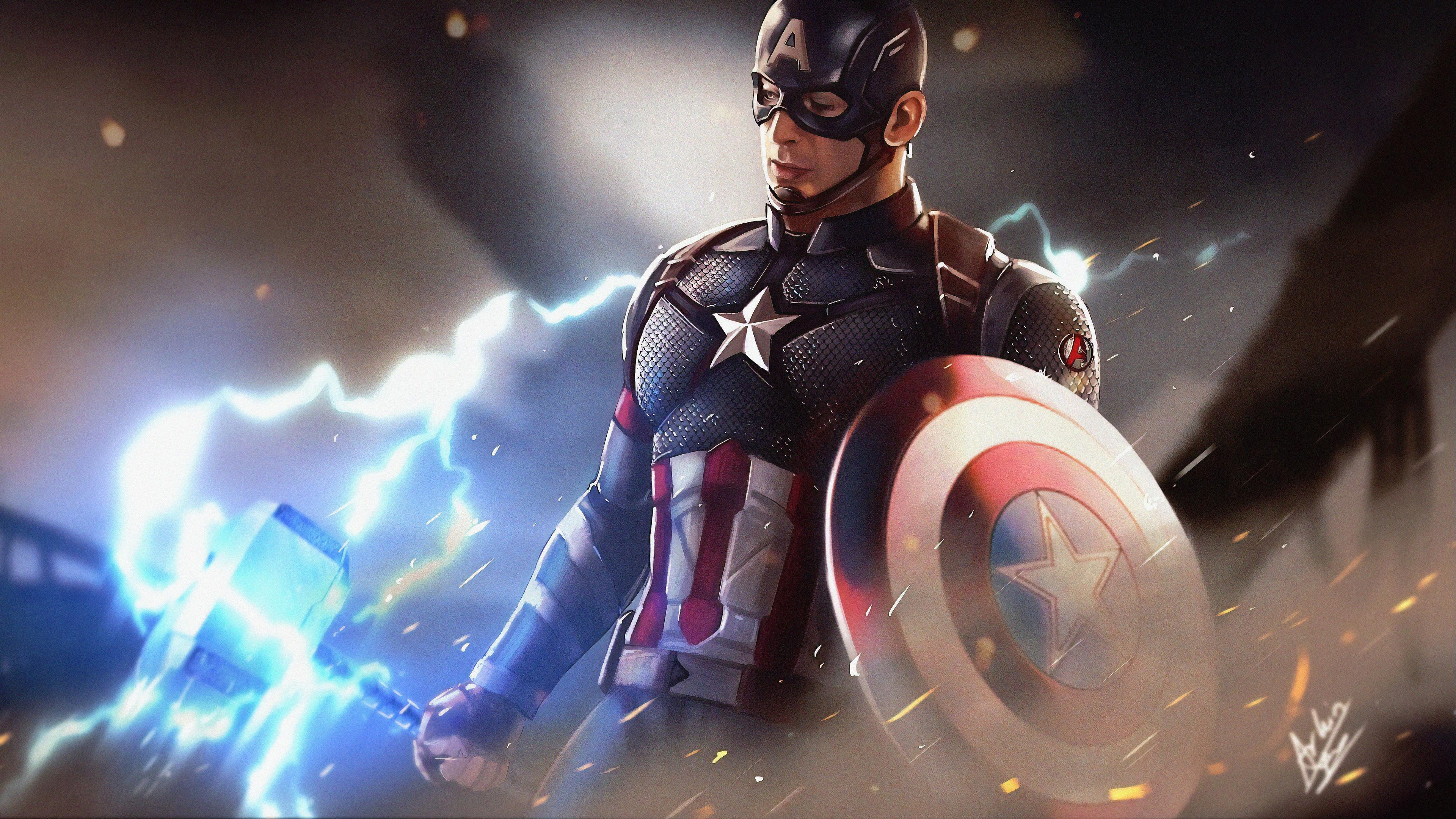 captain america artwork 1563219800 - Captain America Artwork - superheroes wallpapers, hd-wallpapers, digital art wallpapers, captain america wallpapers, artwork wallpapers, artist wallpapers, 4k-wallpapers