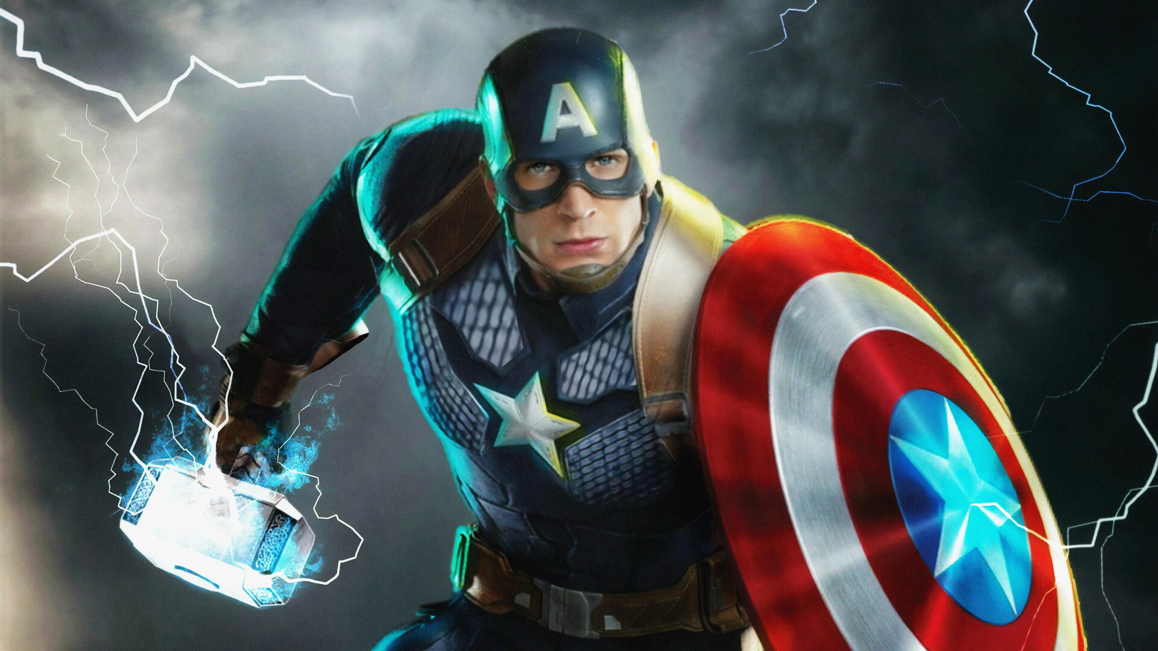 captain america new 1563220153 - Captain America New - superheroes wallpapers, hd-wallpapers, digital art wallpapers, captain america wallpapers, artwork wallpapers, 4k-wallpapers
