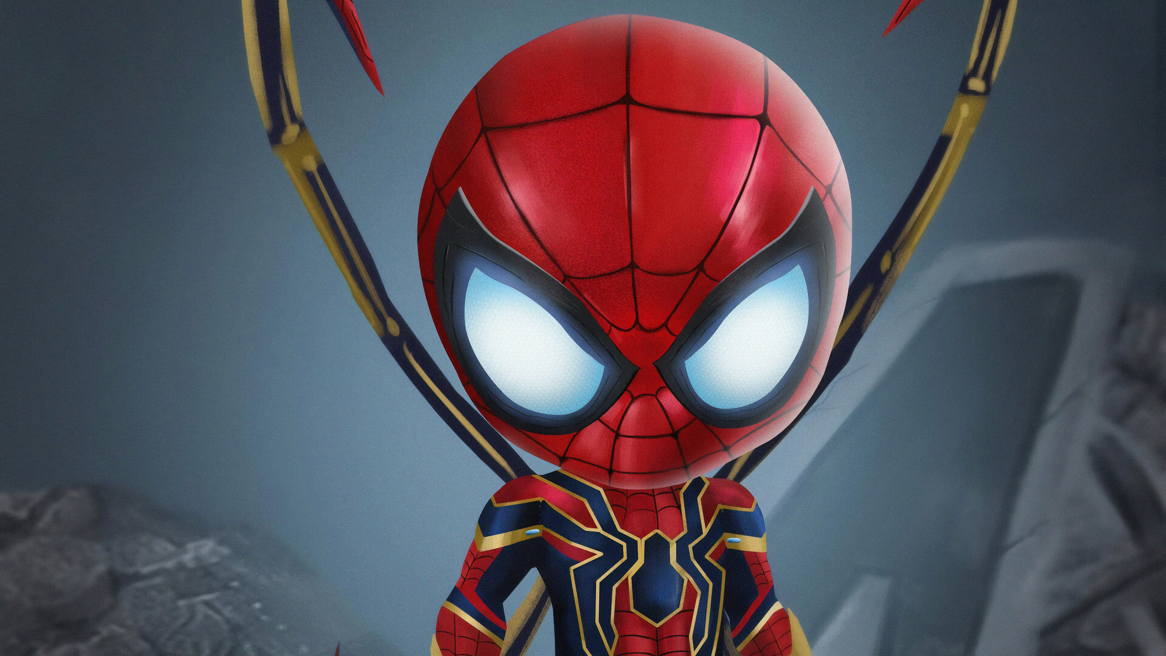 Chibi Iron Spiderman superheroes wallpapers, spiderman ...