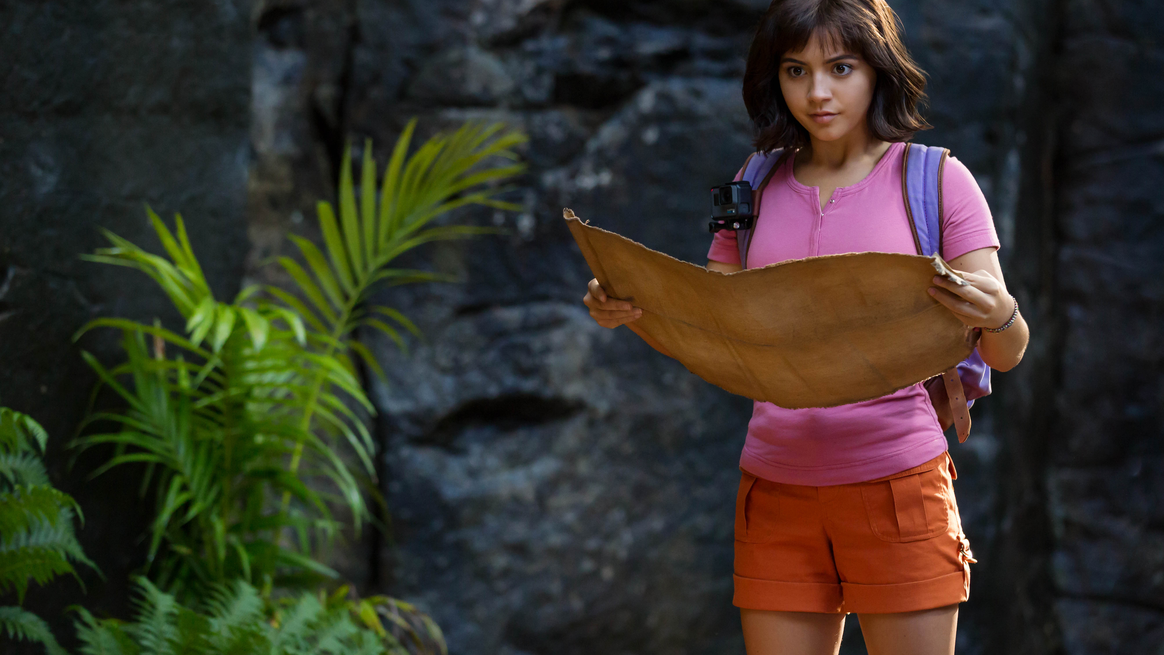 dora and the lost city of gold 2019 1563220846 - Dora And The Lost City Of Gold 2019 - movies wallpapers, isabela moner wallpapers, hd-wallpapers, dora the explorer wallpapers, dora and the lost city of gold wallpapers, 5k wallpapers, 4k-wallpapers, 2019 movies wallpapers