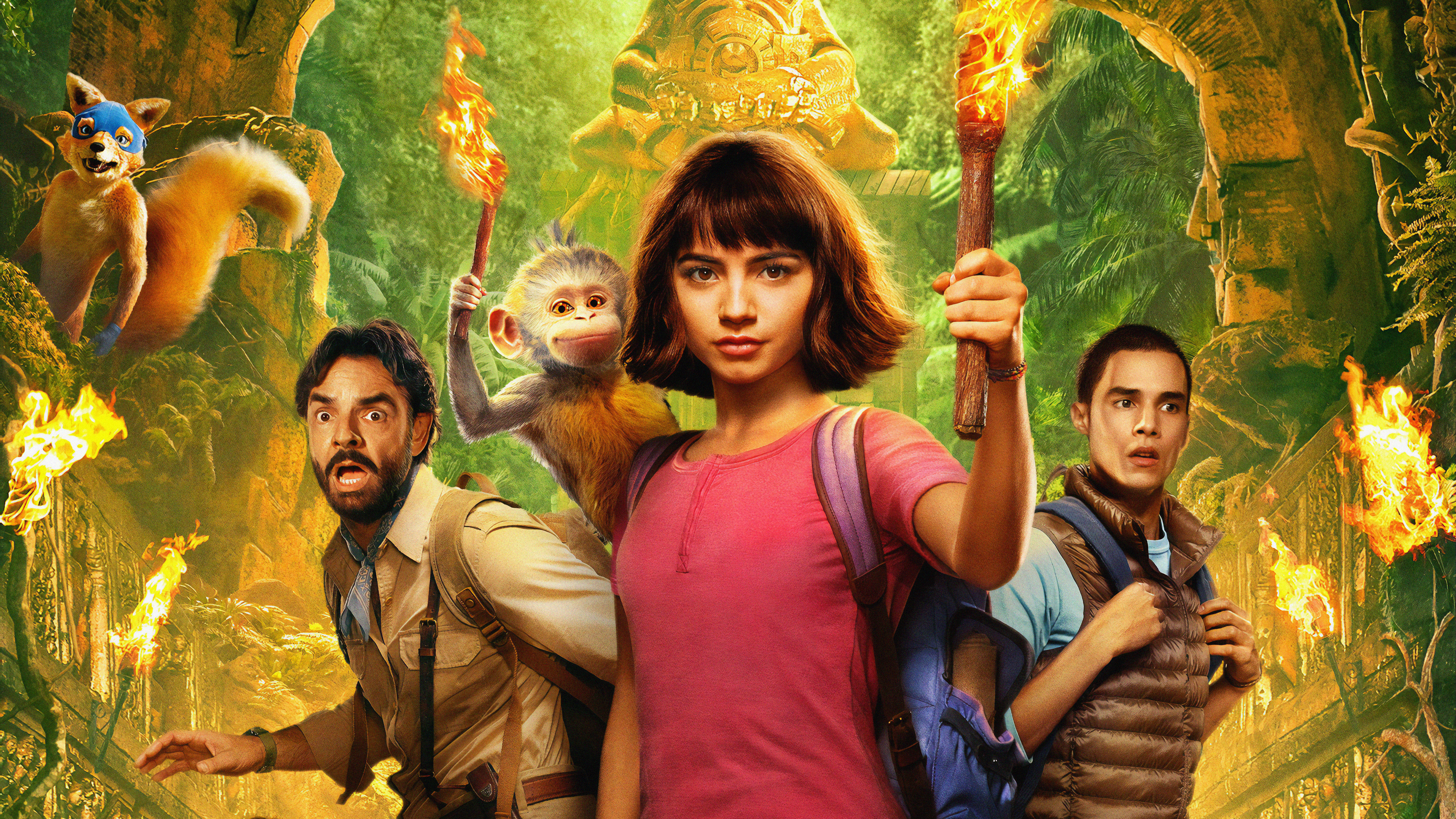 dora and the lost city of gold 1563220881 - Dora And The Lost City Of Gold - movies wallpapers, isabela moner wallpapers, hd-wallpapers, dora the explorer wallpapers, dora and the lost city of gold wallpapers, 5k wallpapers, 4k-wallpapers, 2019 movies wallpapers