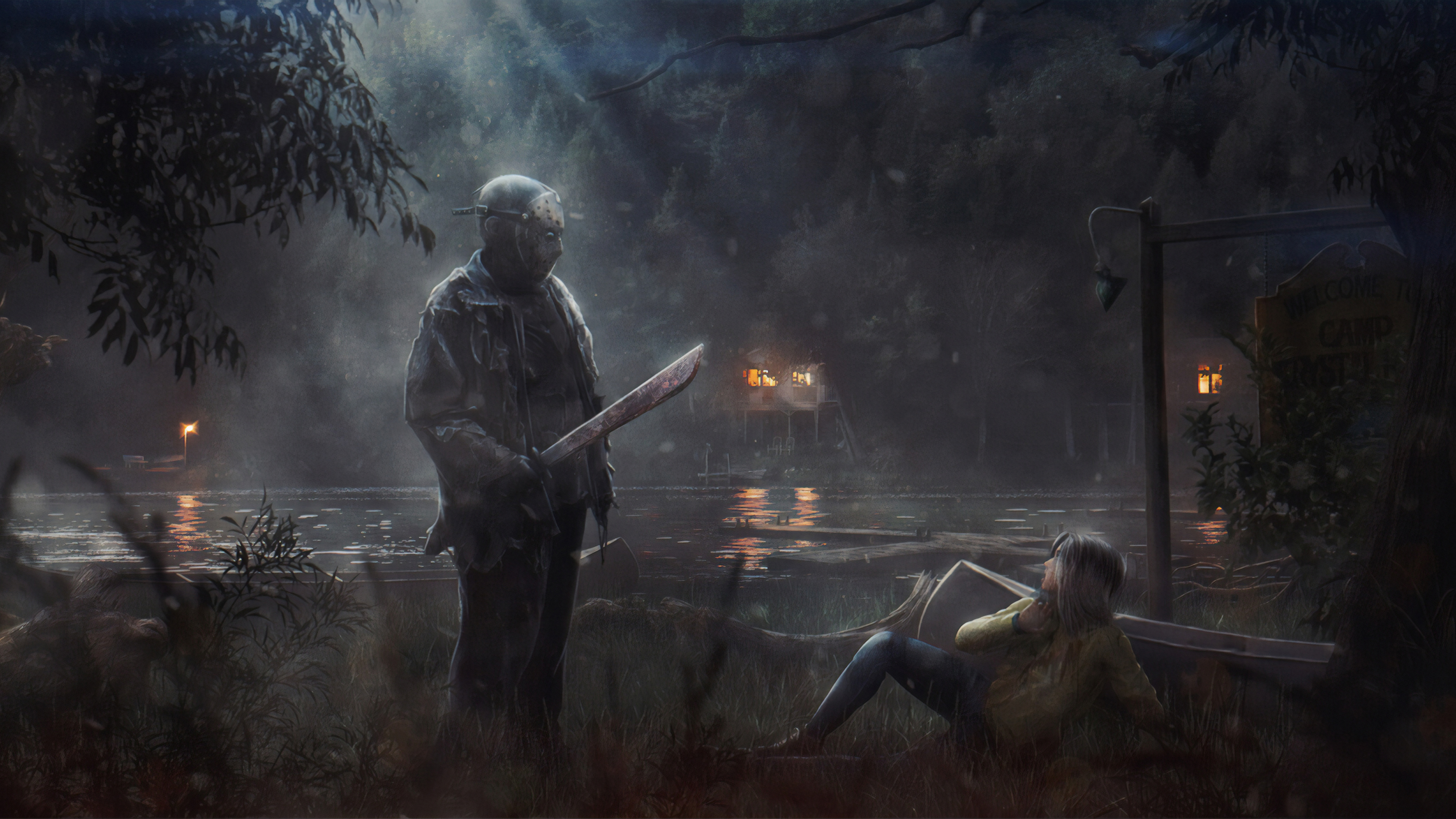 Wallpaper 4k Friday The 13th Game 2019 Games Wallpapers 4k