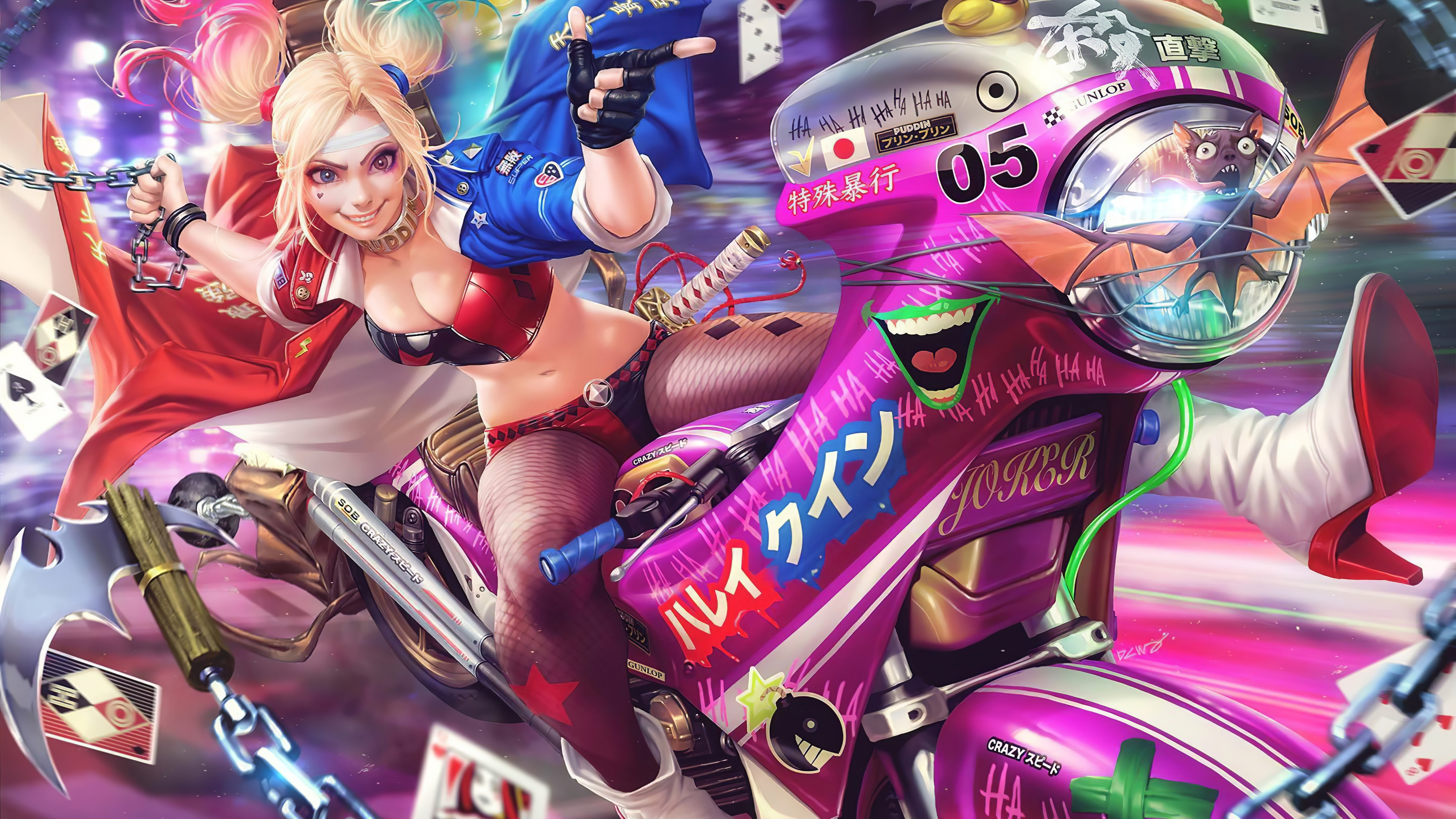 11 Wallpaper Harley Quinn Anime Anime Top Wallpaper