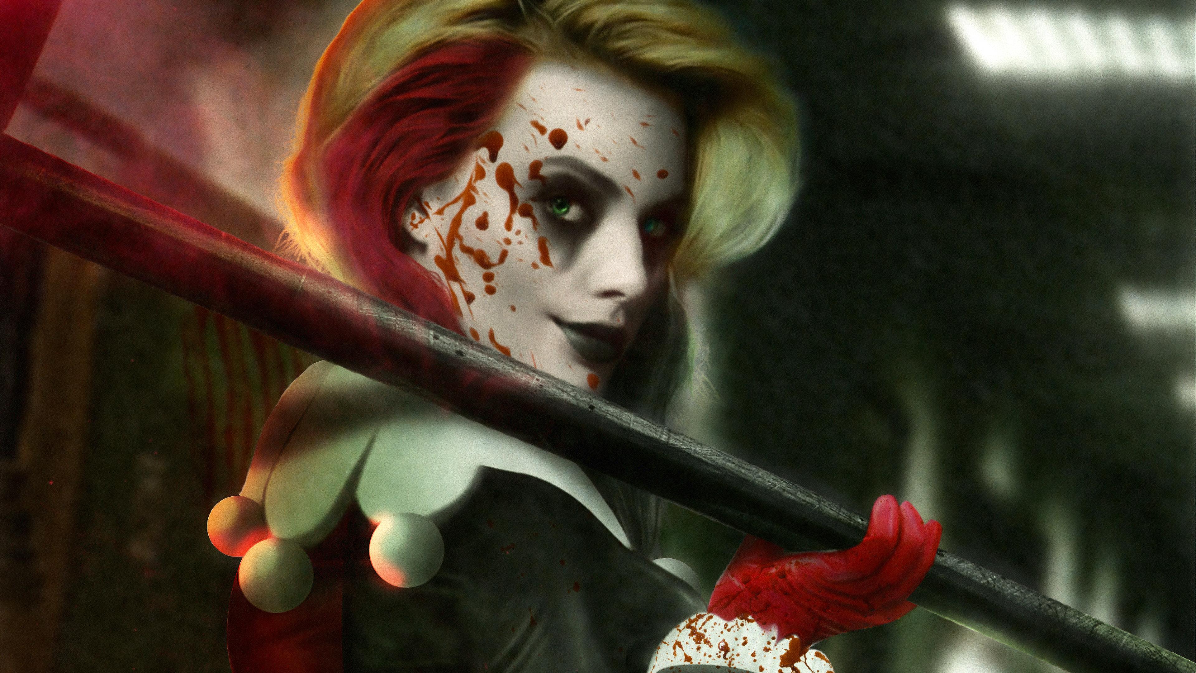 harley quinn the blood queen 1562105998 - Harley Quinn The Blood Queen - supervillain wallpapers, hd-wallpapers, harley quinn wallpapers, 4k-wallpapers