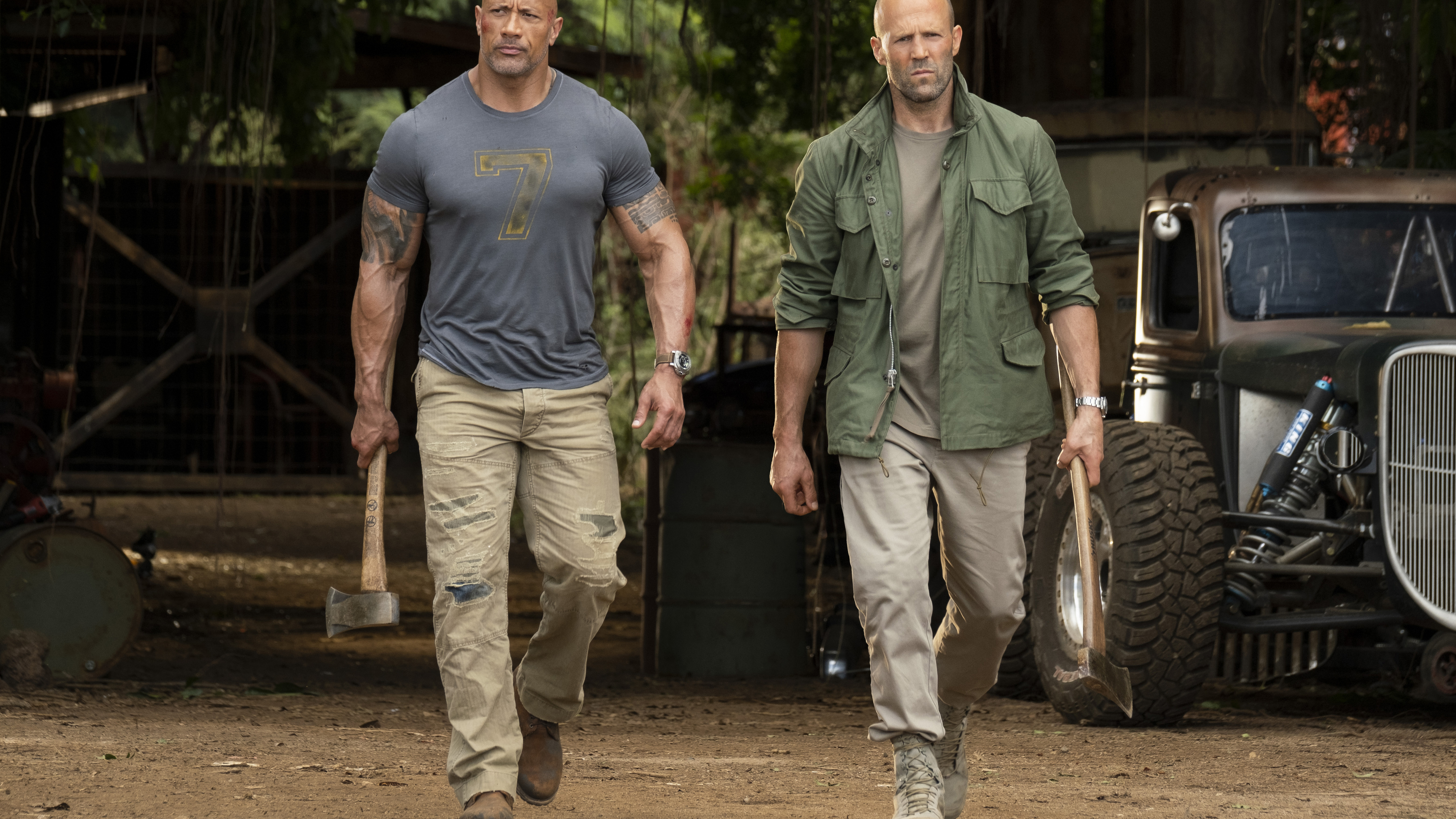 hobbs and shaw 1563220849 - Hobbs And Shaw - poster wallpapers, movies wallpapers, jason statham wallpapers, hobbs and shaw wallpapers, hd-wallpapers, dwayne johnson wallpapers, 5k wallpapers, 4k-wallpapers, 2019 movies wallpapers
