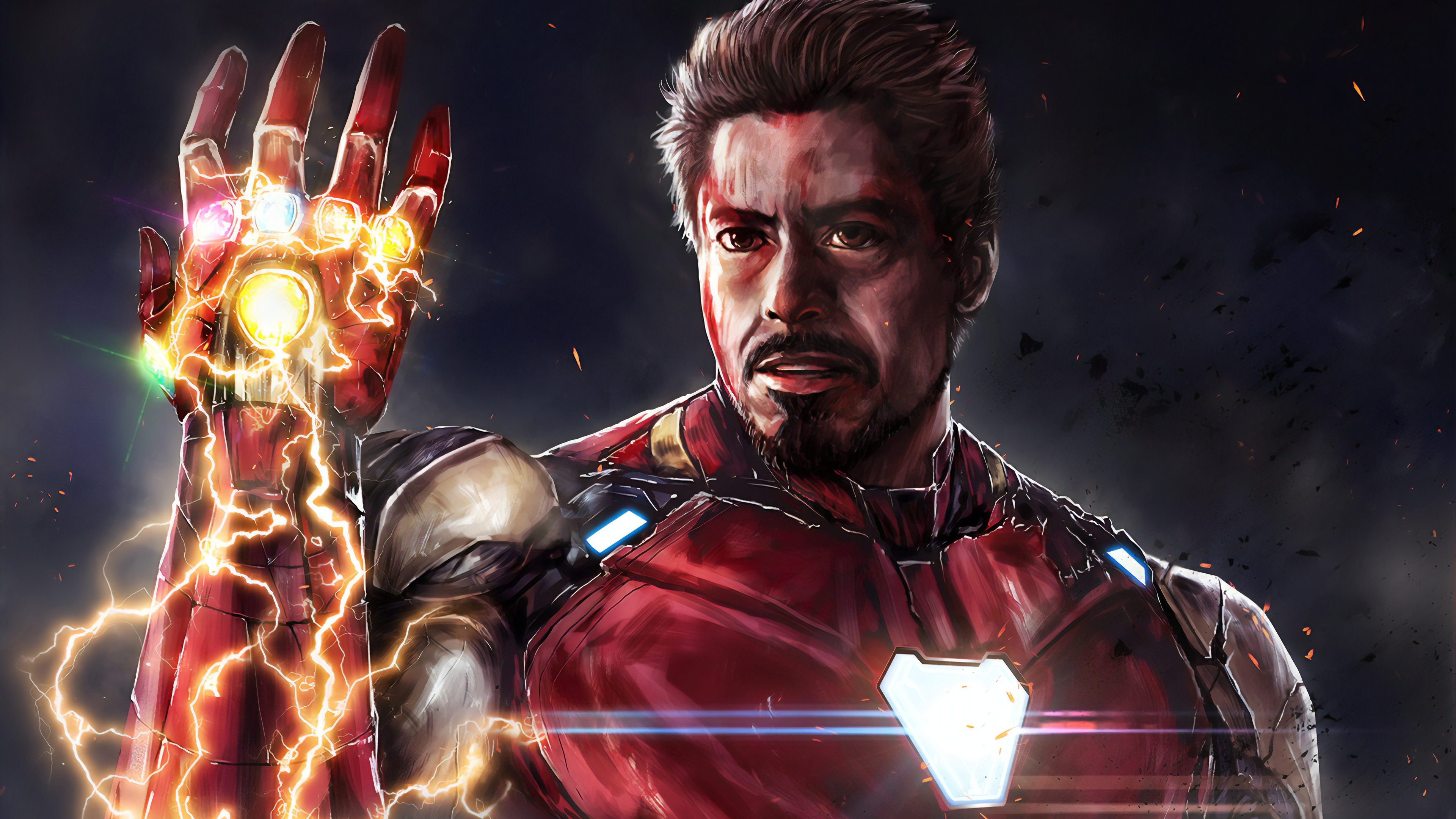 Wallpaper 4k I Am Iron Man 4k Art 4k Wallpapers Artwork