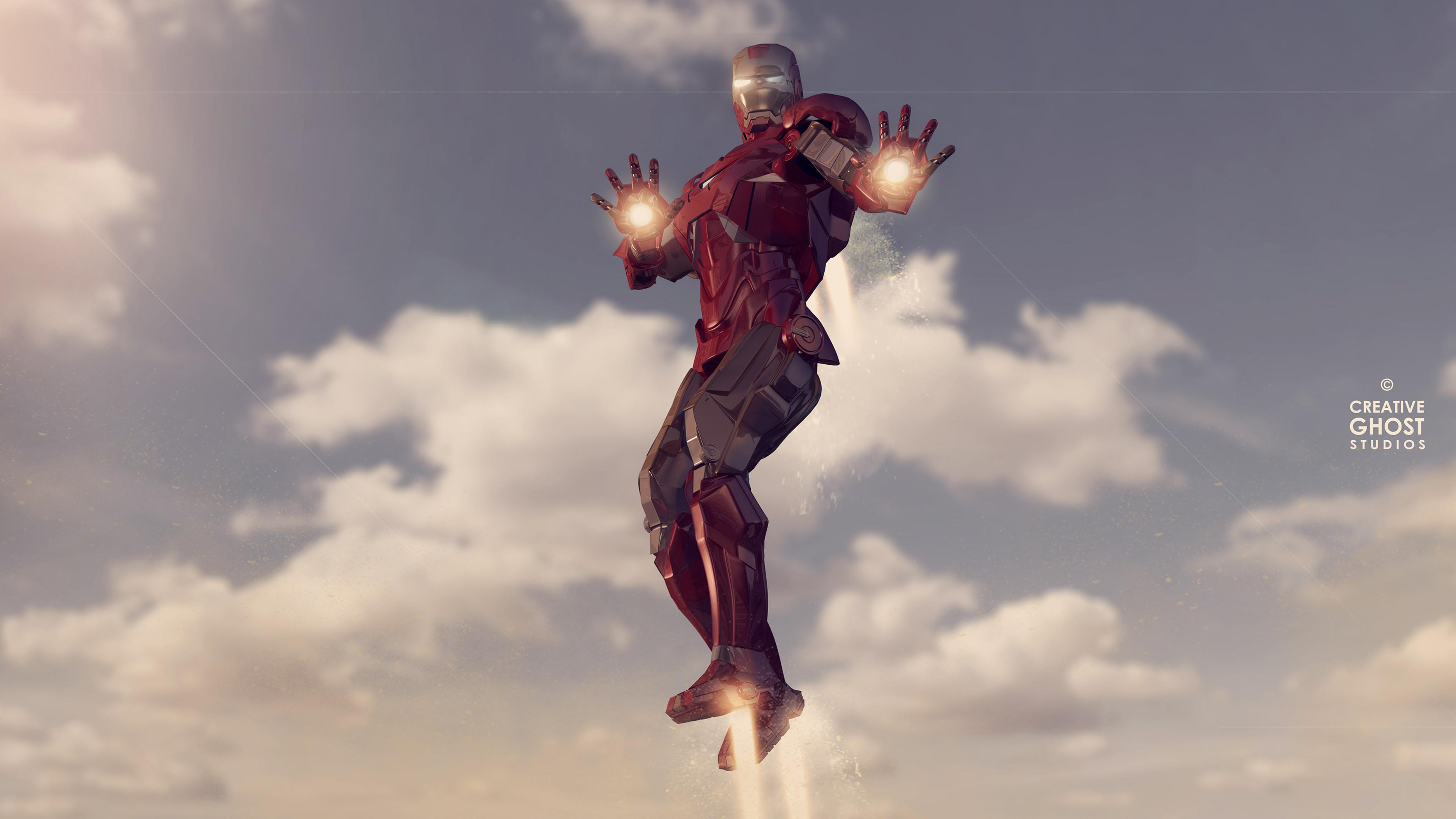 iron man 4k new digital artwork 1562105693 - Iron Man 4k New Digital Artwork - superheroes wallpapers, iron man wallpapers, hd-wallpapers, digital art wallpapers, behance wallpapers, artwork wallpapers, 4k-wallpapers