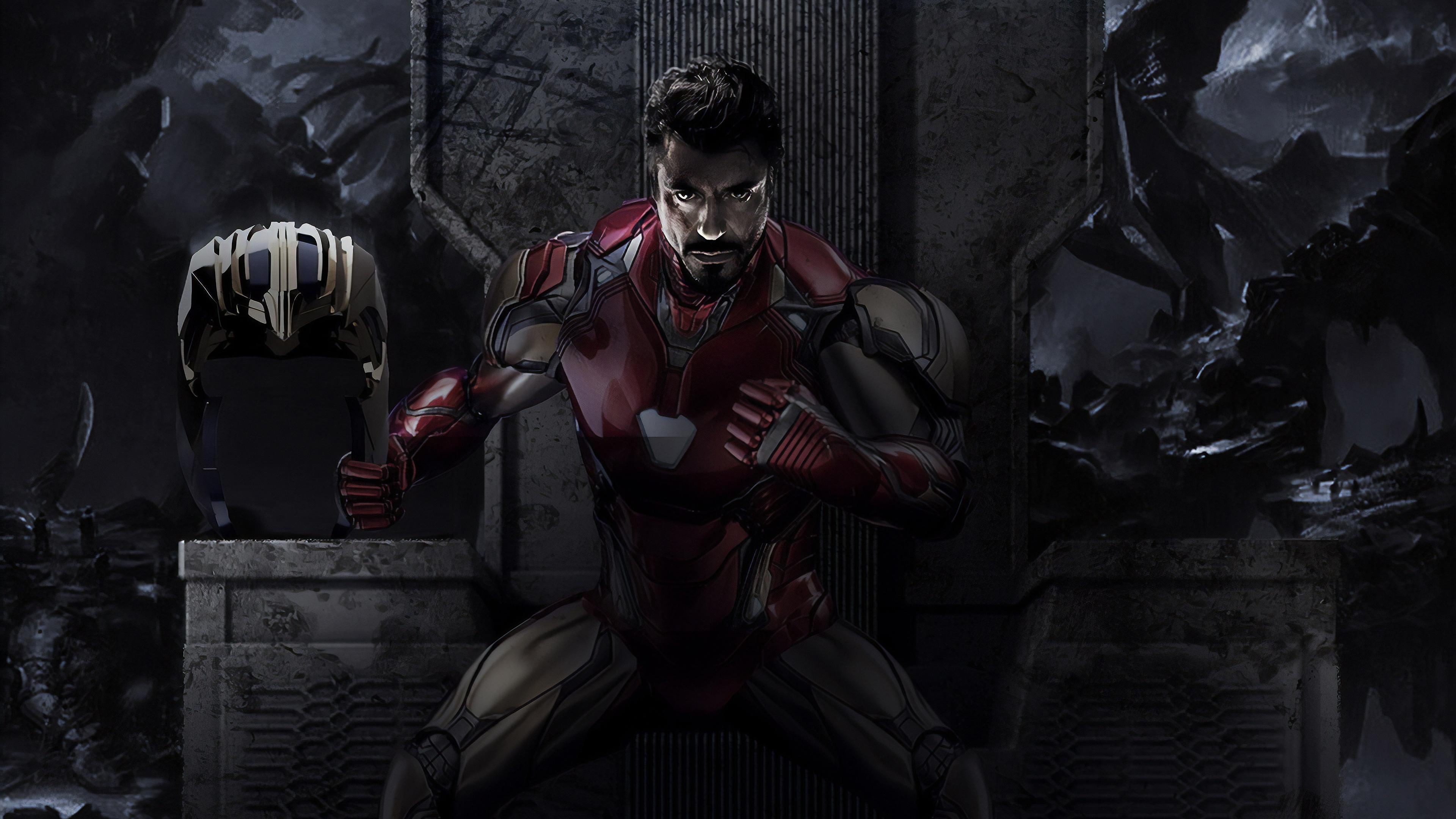Wallpaper 4k Iron Man Endgame 4k 4k Wallpapers Artwork