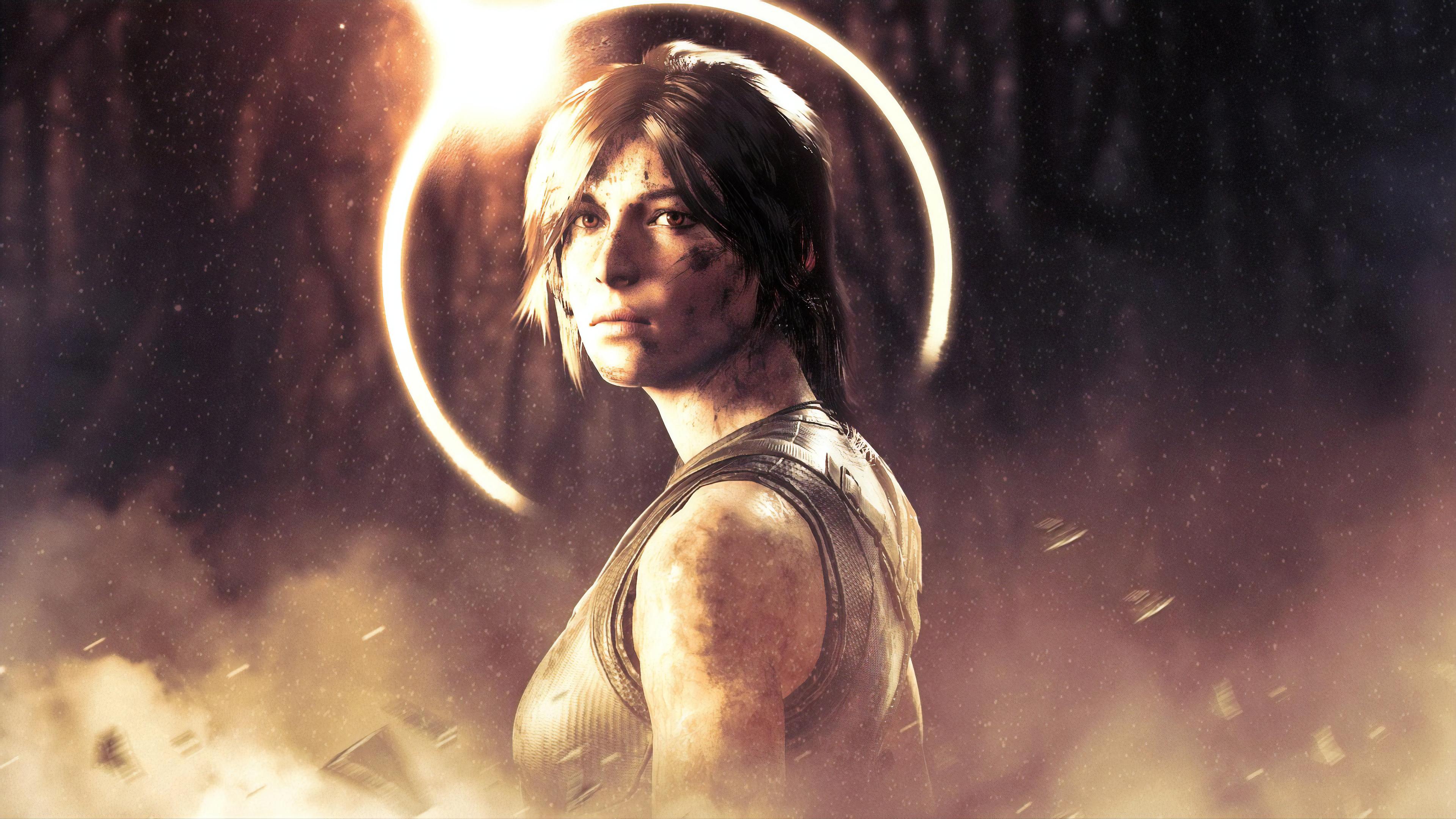 Wallpaper 4k Lara Croft From Shadow Of The Tomb Raider 2019 Games