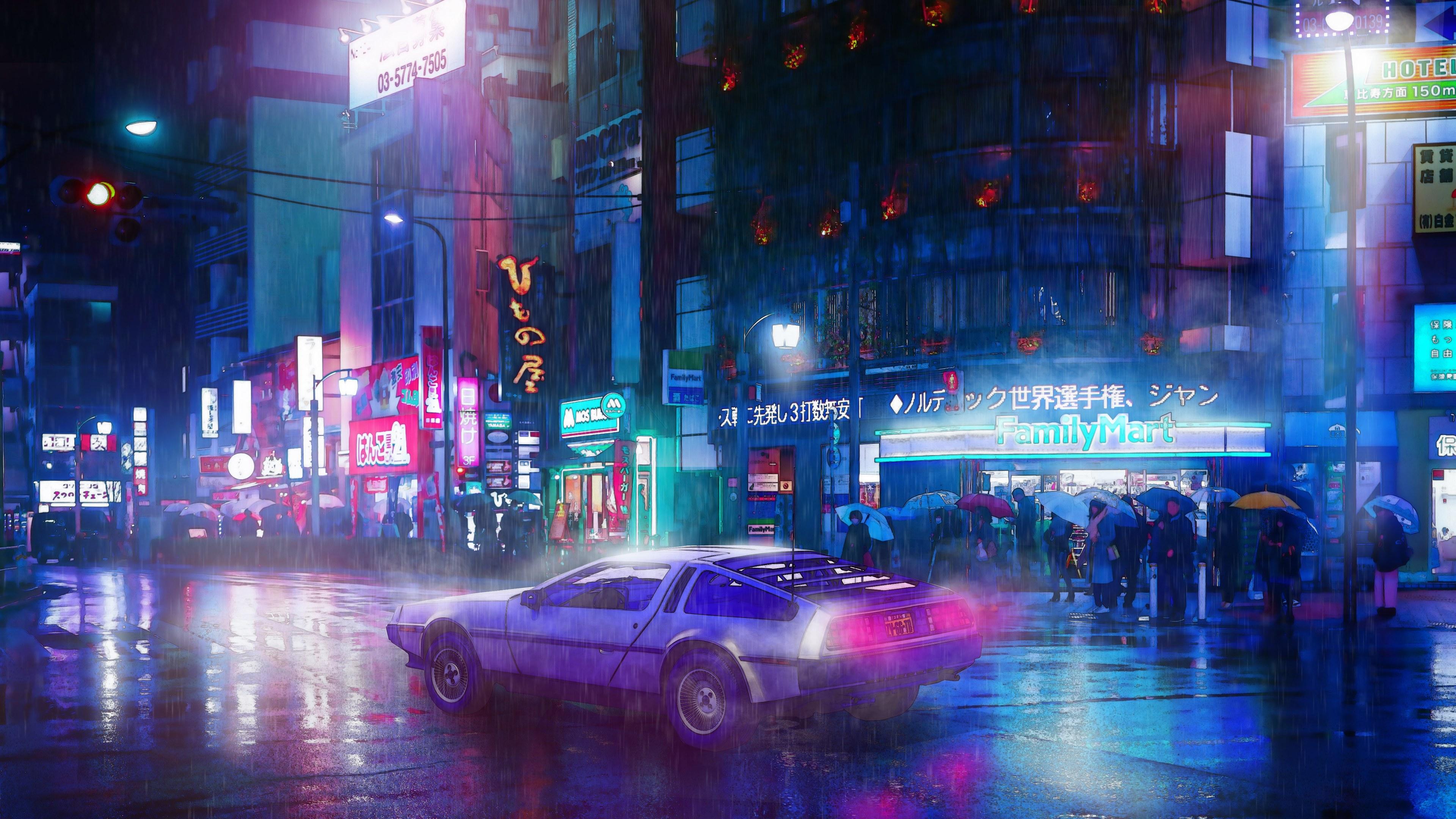 My Cyberpunk Ride neon wallpapers, hd-wallpapers, digital ...