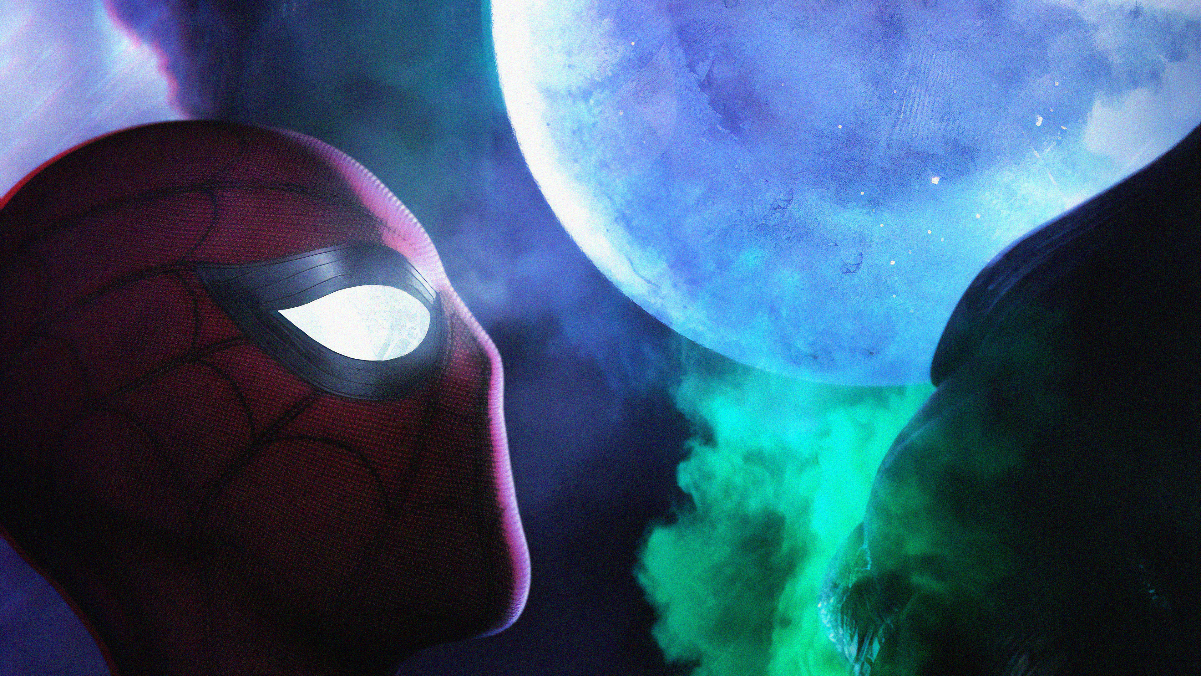 mysterio spiderman far from home 1563220386 - Mysterio SpiderMan Far From Home - superheroes wallpapers, spiderman far from home wallpapers, mysterio wallpapers, movies wallpapers, jake gyllenhaal wallpapers, hd-wallpapers, 5k wallpapers, 4k-wallpapers, 2019 movies wallpapers