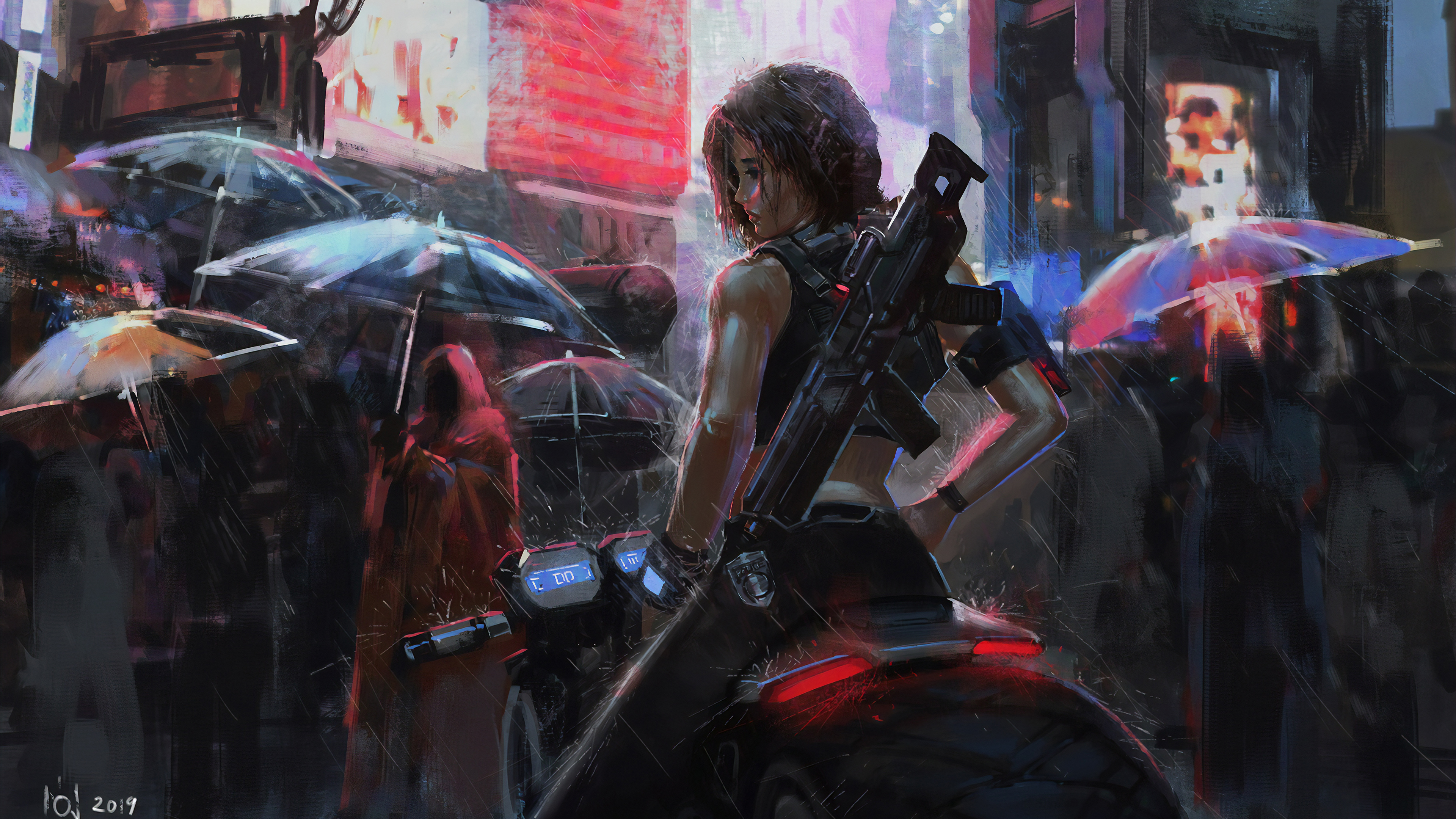 Wallpaper 4k Neon Biker Girl Rain 4k Wallpapers Anime Girl Wallpapers Anime Wallpapers Deviantart Wallpapers Hd Wallpapers Neon Wallpapers Rain Wallpapers