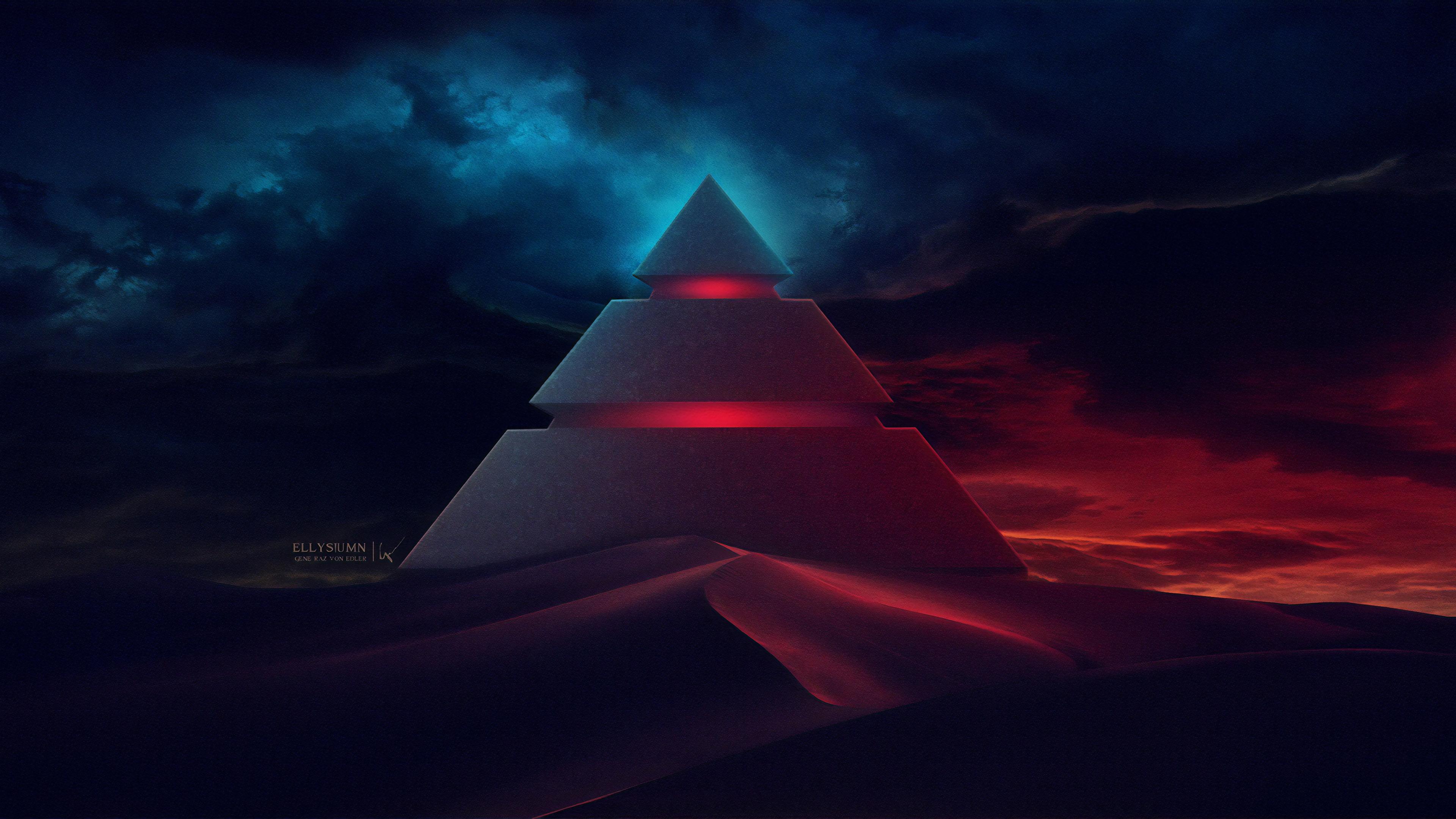 pyramid digital art 1563222066 - Pyramid Digital Art - pyramid wallpapers, hd-wallpapers, digital art wallpapers, artwork wallpapers, artstation wallpapers, artist wallpapers, 4k-wallpapers