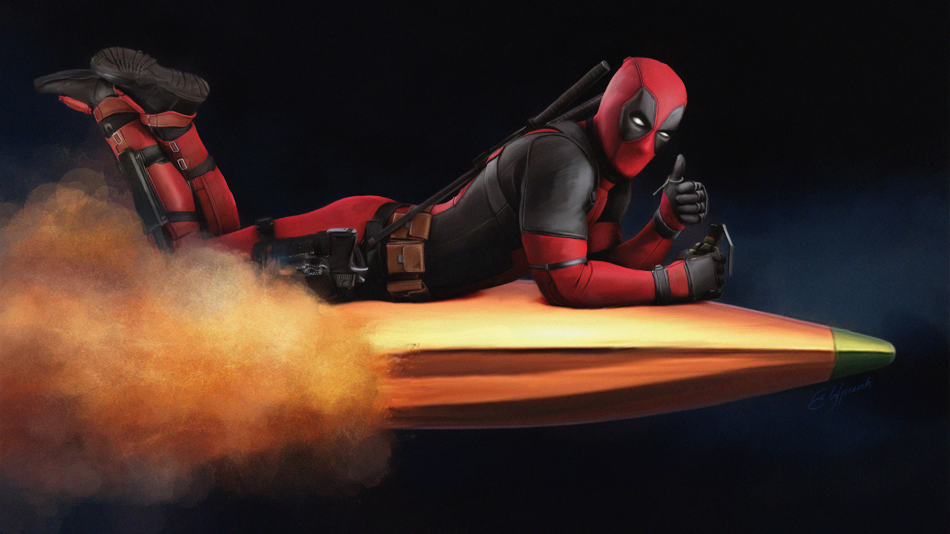 riding on bullet 1563219805 - Riding On Bullet - superheroes wallpapers, hd-wallpapers, digital art wallpapers, deadpool wallpapers, artwork wallpapers, 4k-wallpapers