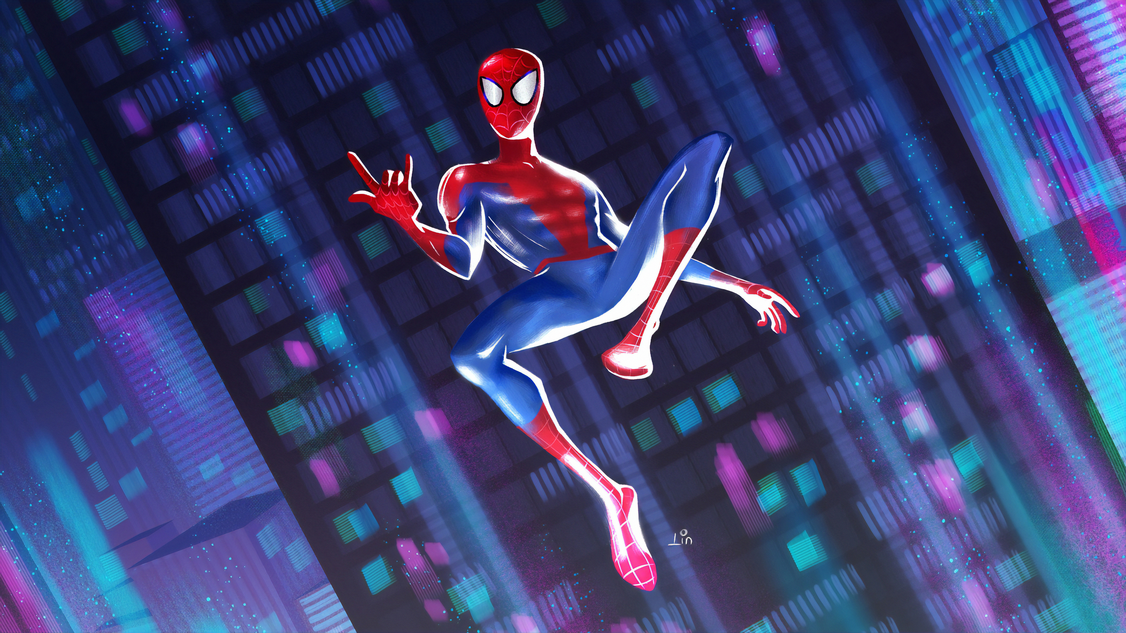 spider 1562106140 - Spider - superheroes wallpapers, spiderman wallpapers, hd-wallpapers, digital art wallpapers, artwork wallpapers, artist wallpapers, 4k-wallpapers