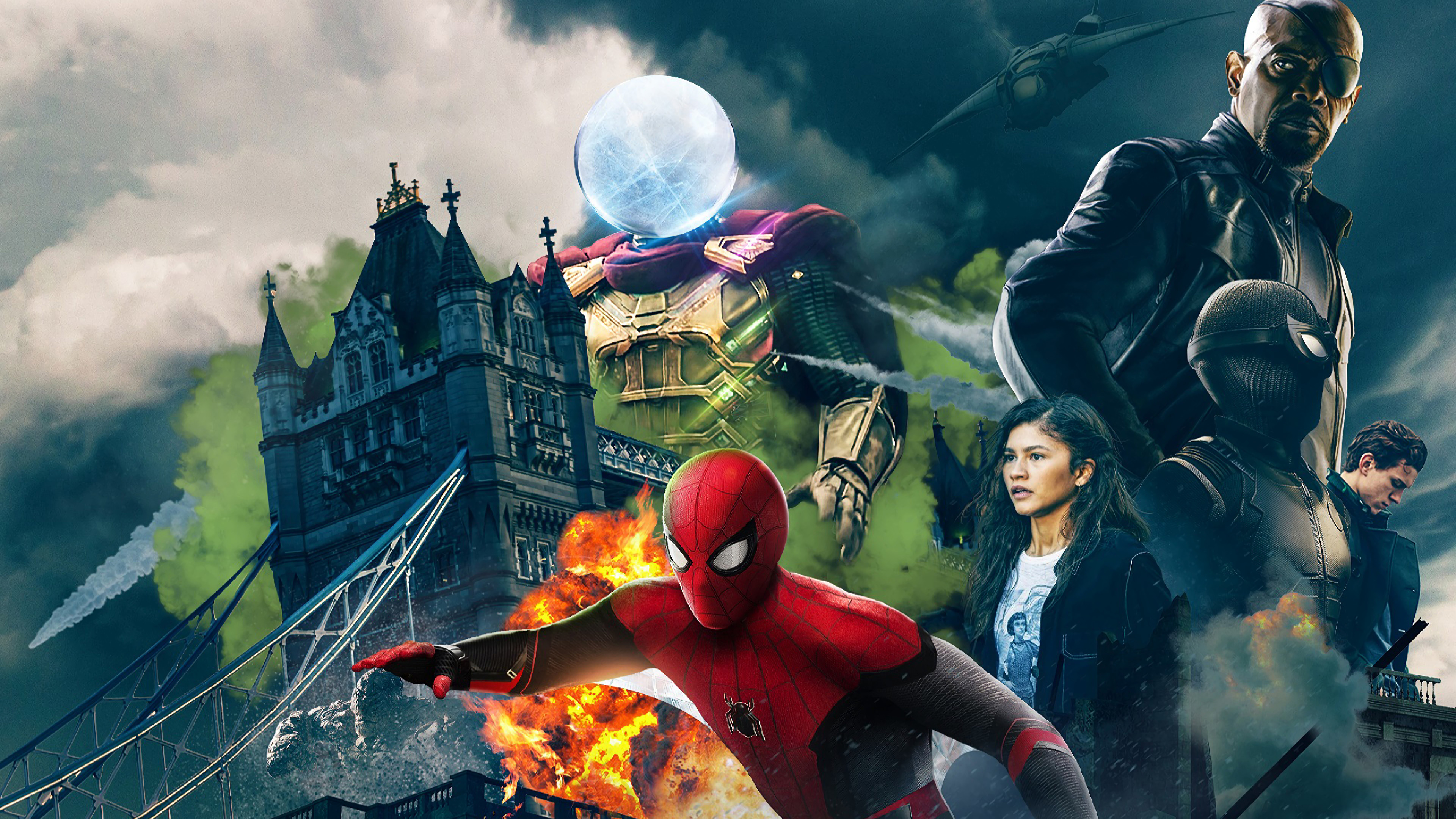 spiderman far fromhome character poster 1562107171 - Spiderman Far Fromhome Character Poster - tom holland wallpapers, superheroes wallpapers, spiderman wallpapers, spiderman far from home wallpapers, movies wallpapers, hd-wallpapers, 4k-wallpapers, 2019 movies wallpapers