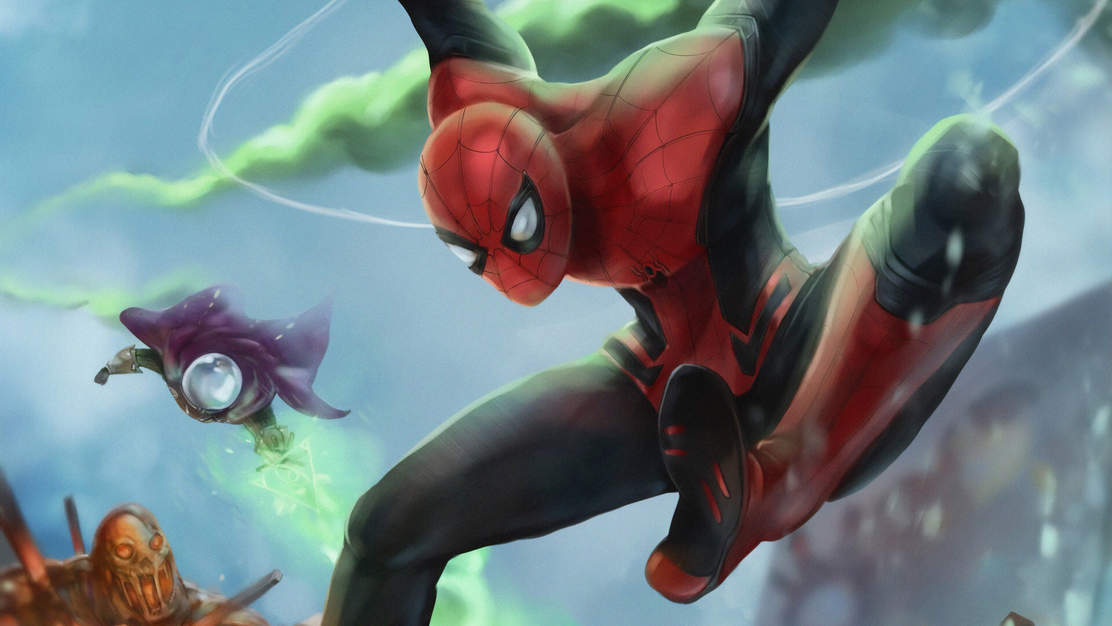 spiderman farfrom home artwork 1563220050 - Spiderman Farfrom Home Artwork - superheroes wallpapers, spiderman wallpapers, spiderman far from home wallpapers, hd-wallpapers, digital art wallpapers, artwork wallpapers, 4k-wallpapers