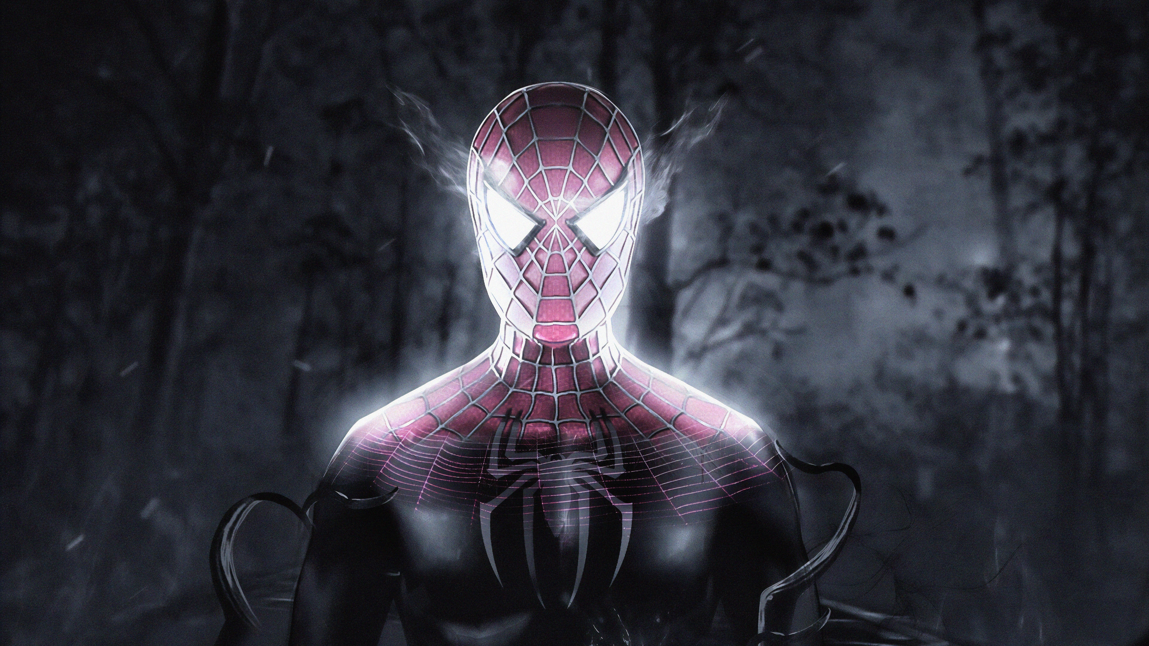 Wallpaper 4k Spiderman Inside Venom 4k Wallpapers Art