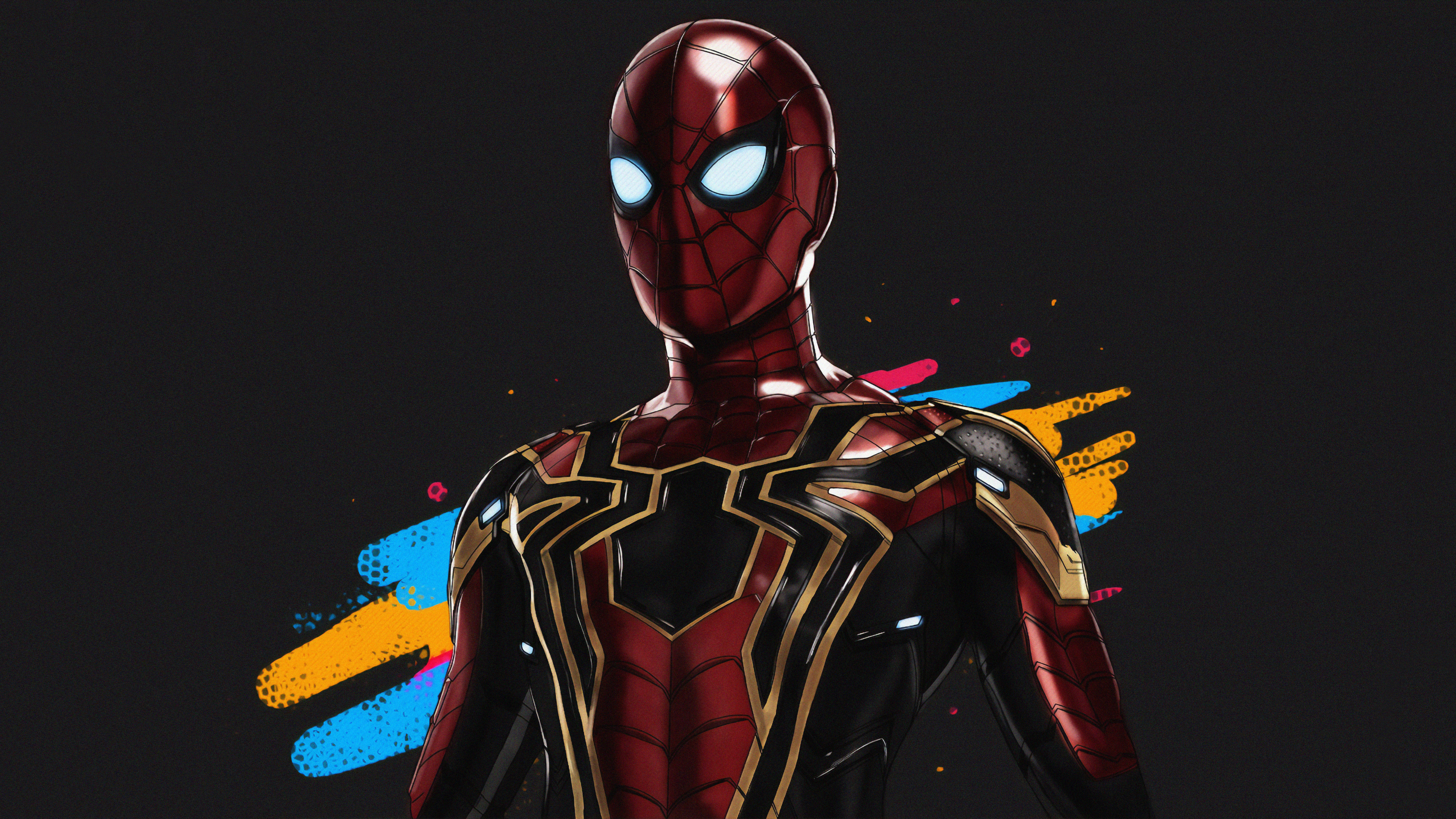 spiderman iron art 1563220145 - Spiderman Iron Art - superheroes wallpapers, spiderman wallpapers, hd-wallpapers, digital art wallpapers, artwork wallpapers, art wallpapers, 4k-wallpapers