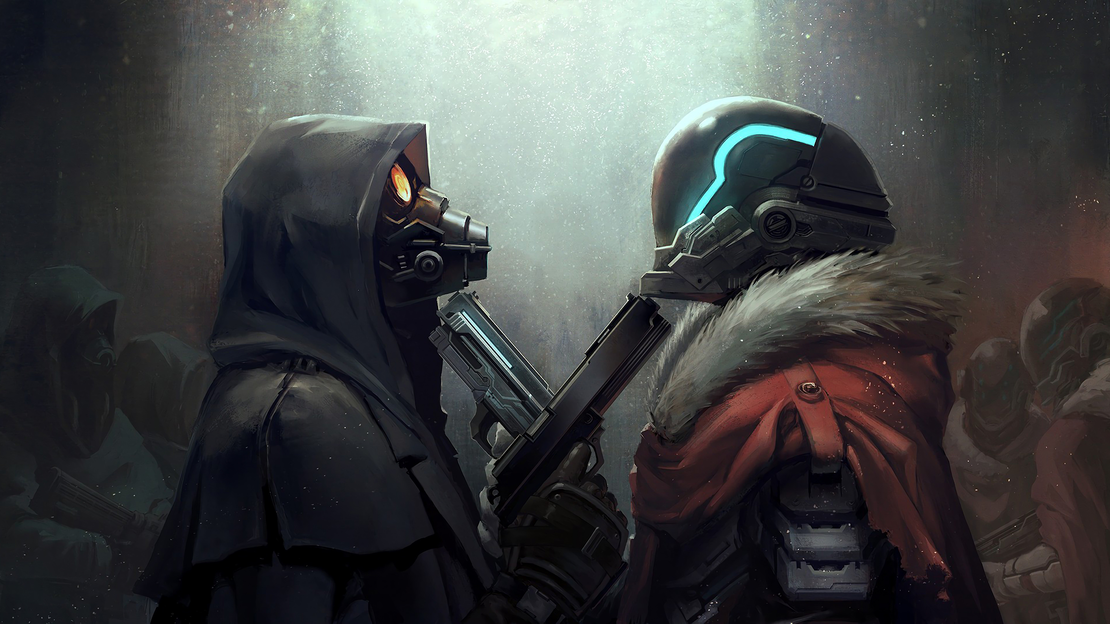 stand off 1563222203 - Stand Off - hd-wallpapers, digital art wallpapers, artwork wallpapers, artstation wallpapers, artist wallpapers, 4k-wallpapers