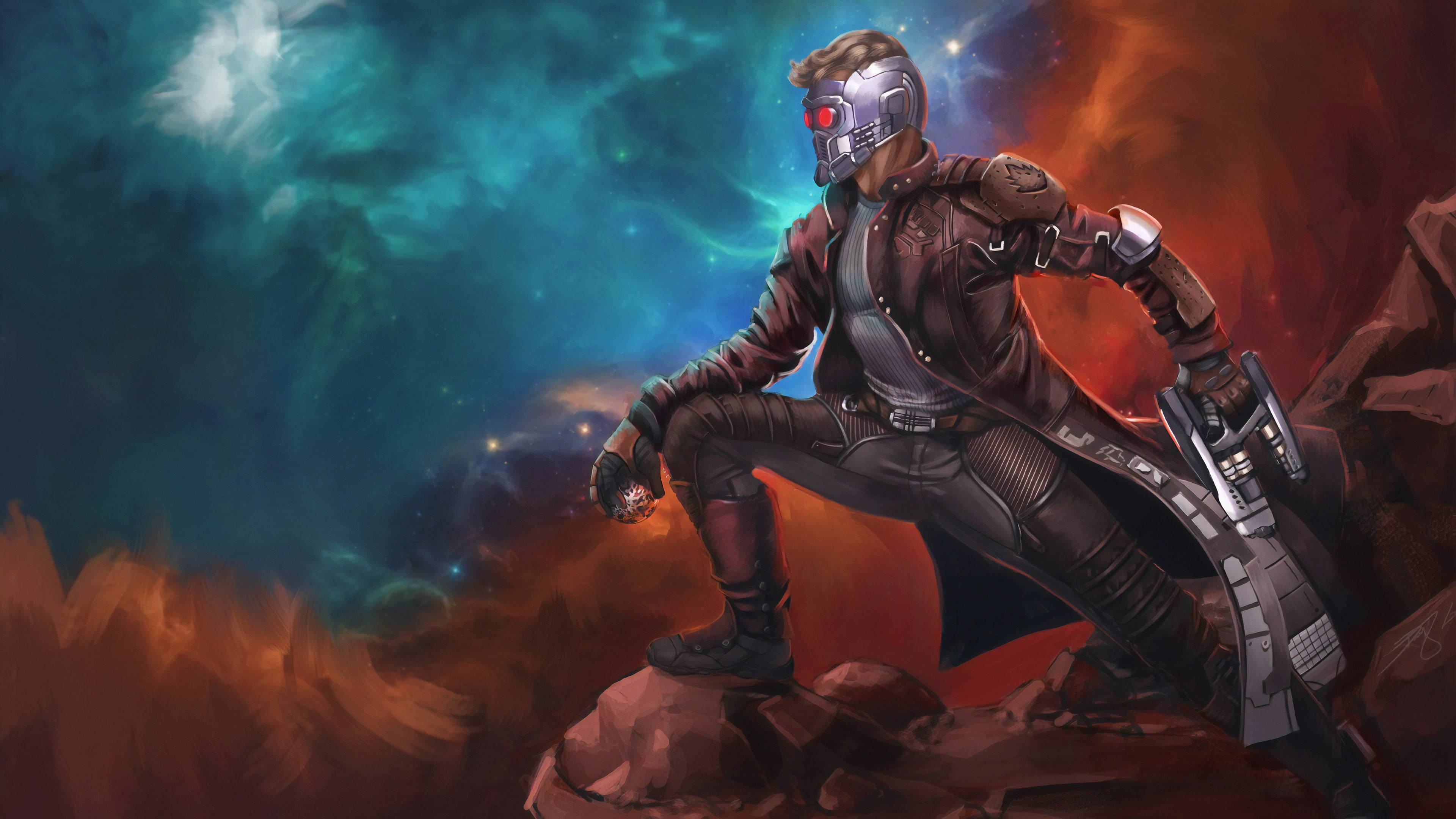 Wallpaper 4k Star Lord Art 4k Wallpapers Artwork Wallpapers