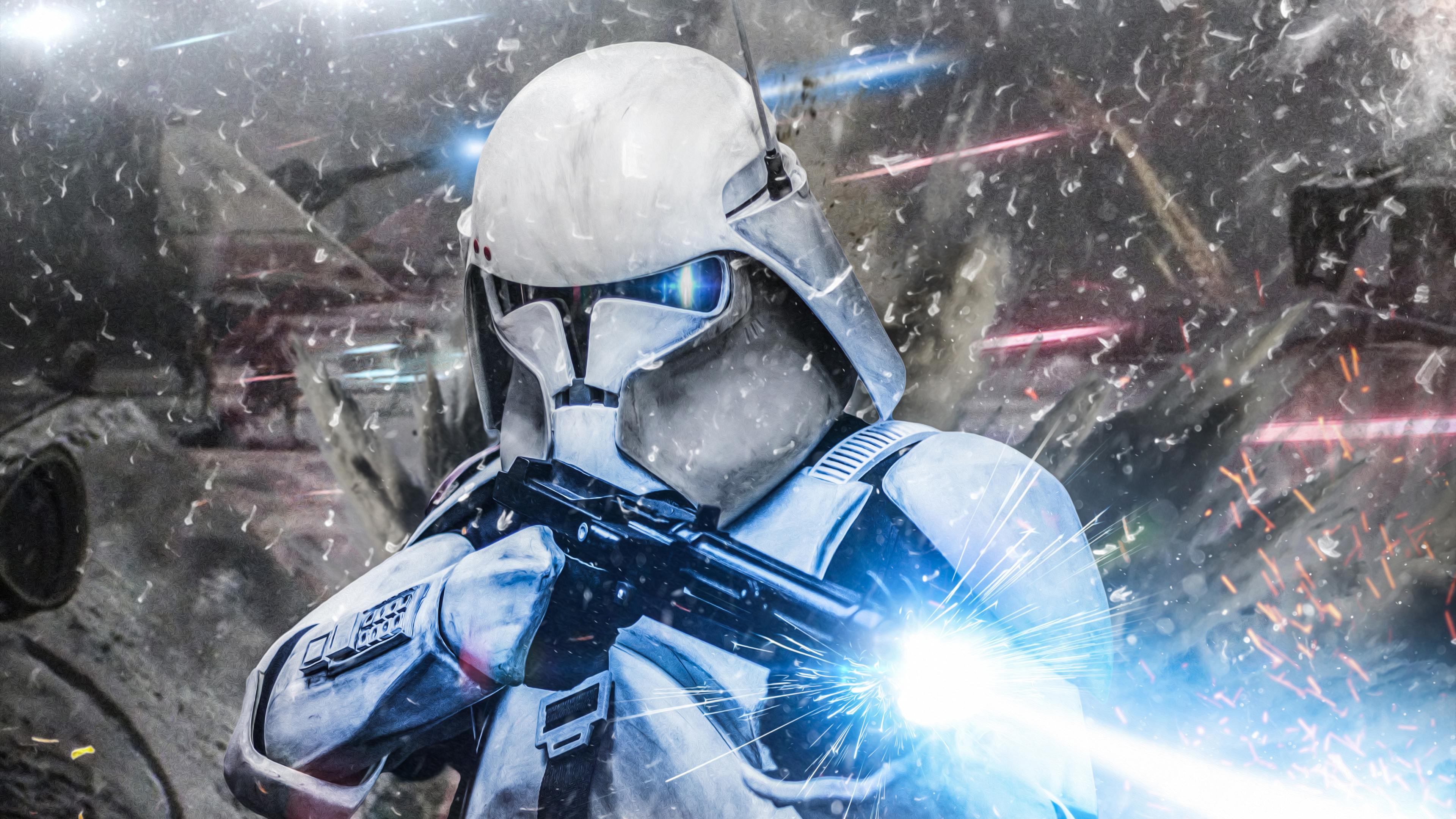 Wallpaper 4k Stormtrooper Commander 4k Wallpapers Deviantart