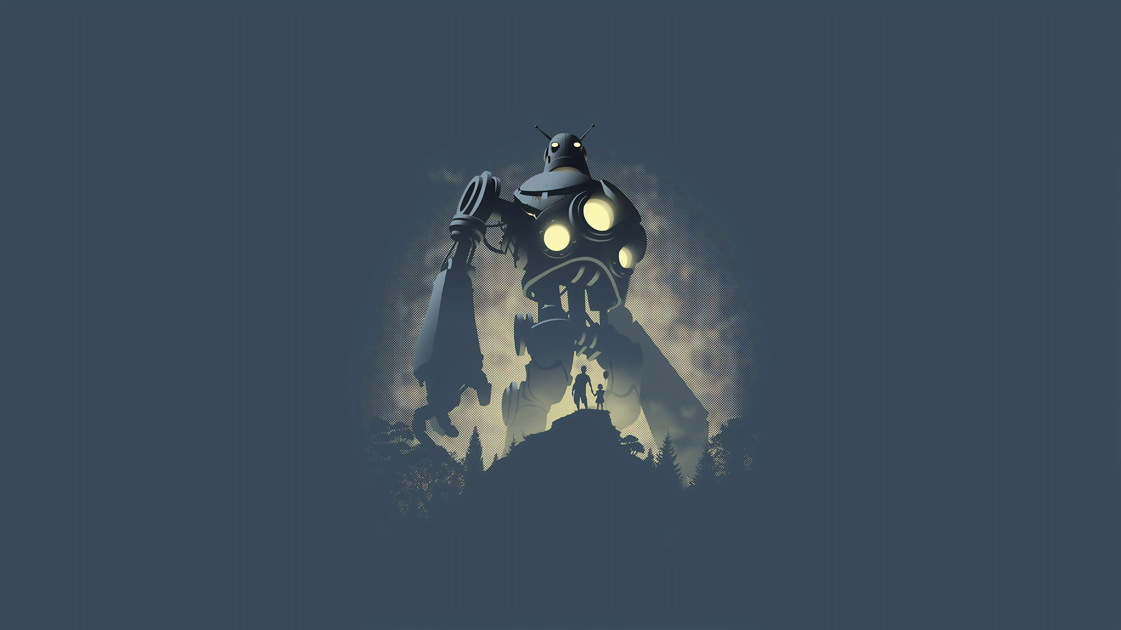 the iron giant 1563222045 - The Iron Giant - the iron giant wallpapers, minimalism wallpapers, hd-wallpapers, digital art wallpapers, artwork wallpapers, artist wallpapers, 4k-wallpapers