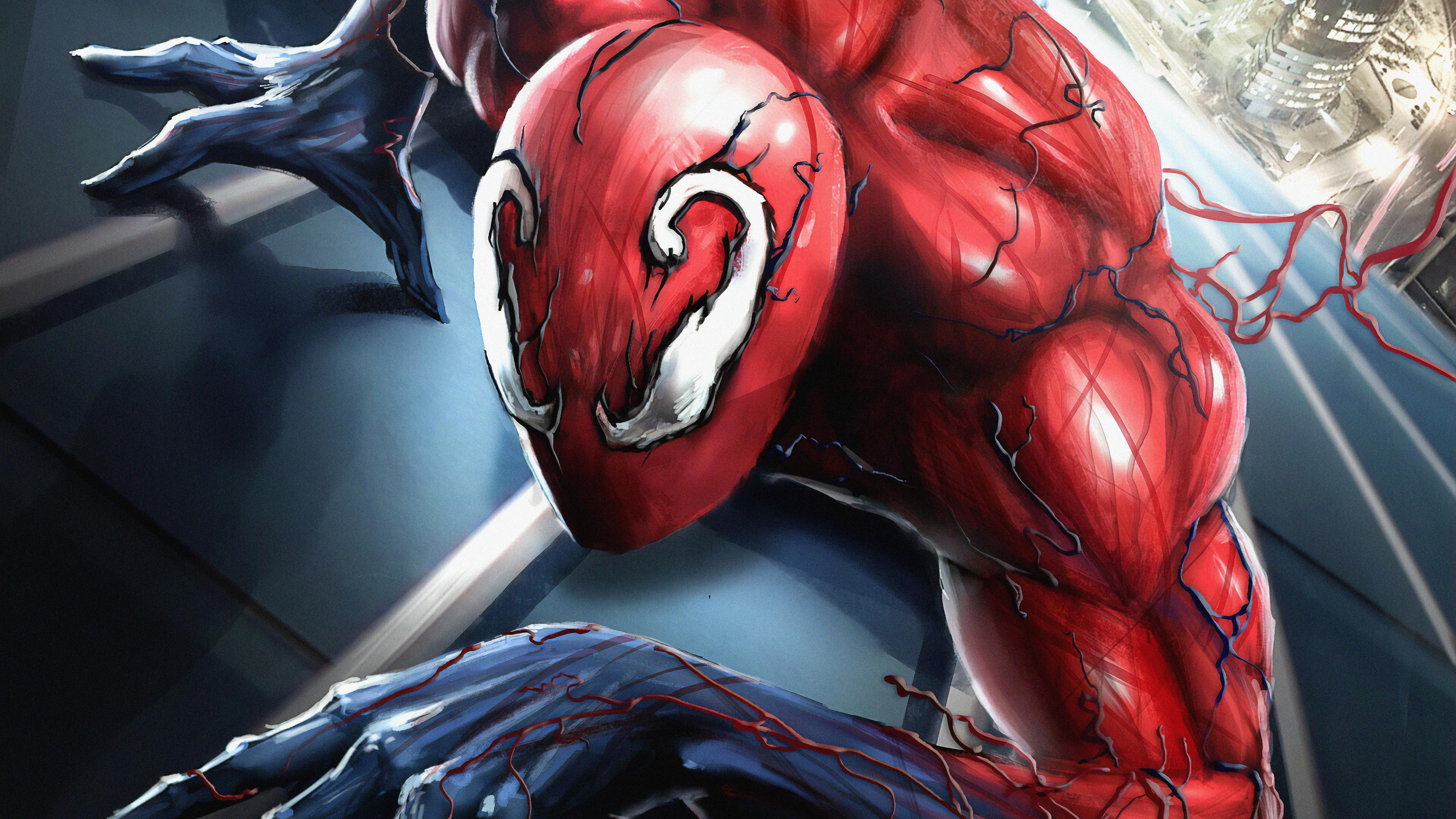 toxic spider 1563220151 - Toxic Spider - superheroes wallpapers, spiderman wallpapers, hd-wallpapers, digital art wallpapers, artwork wallpapers, artstation wallpapers, art wallpapers, 4k-wallpapers