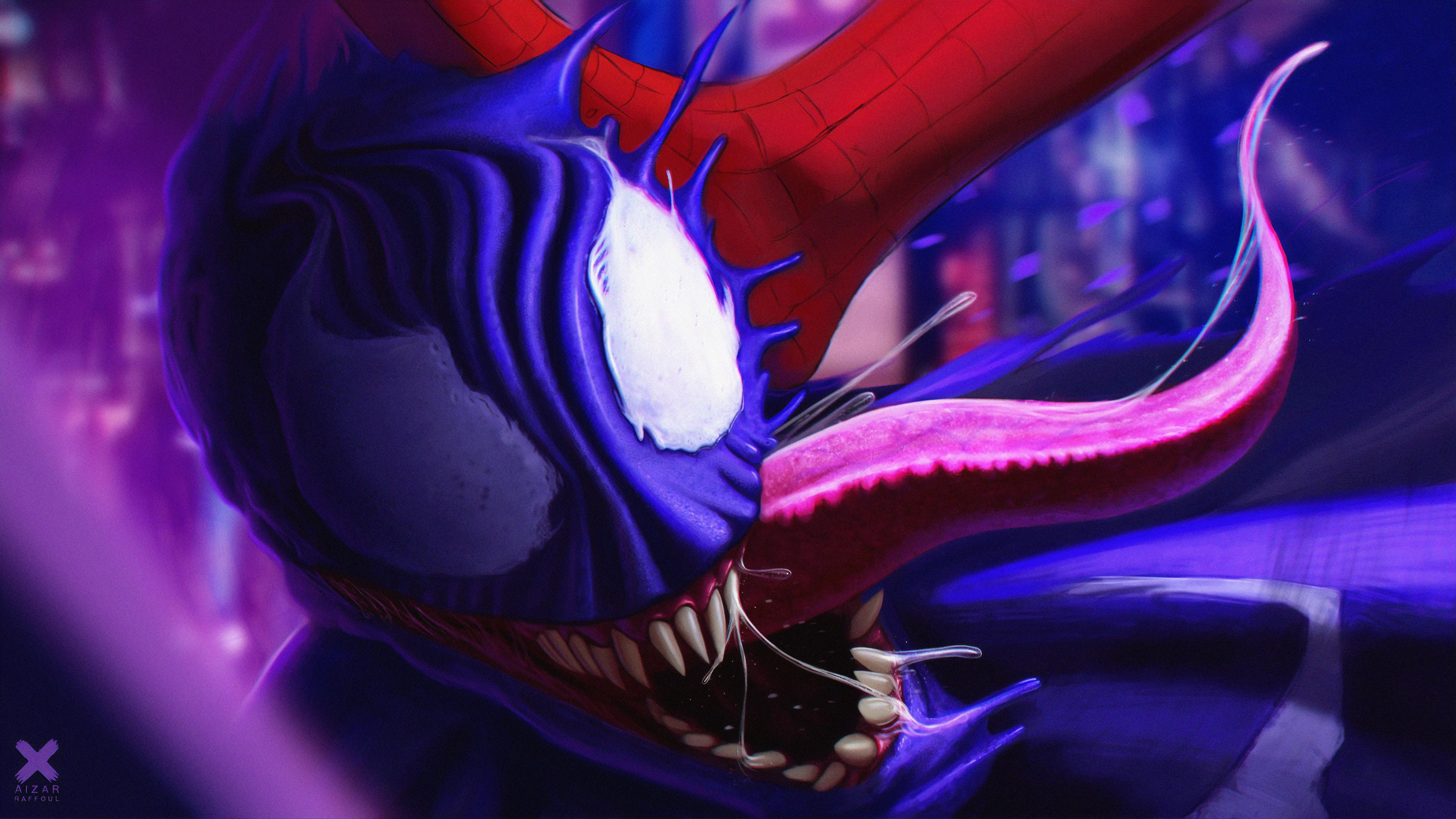 venom gets beat up 1563220382 - Venom Gets Beat Up - Venom wallpapers, superheroes wallpapers, hd-wallpapers, digital art wallpapers, artwork wallpapers, artstation wallpapers, 4k-wallpapers