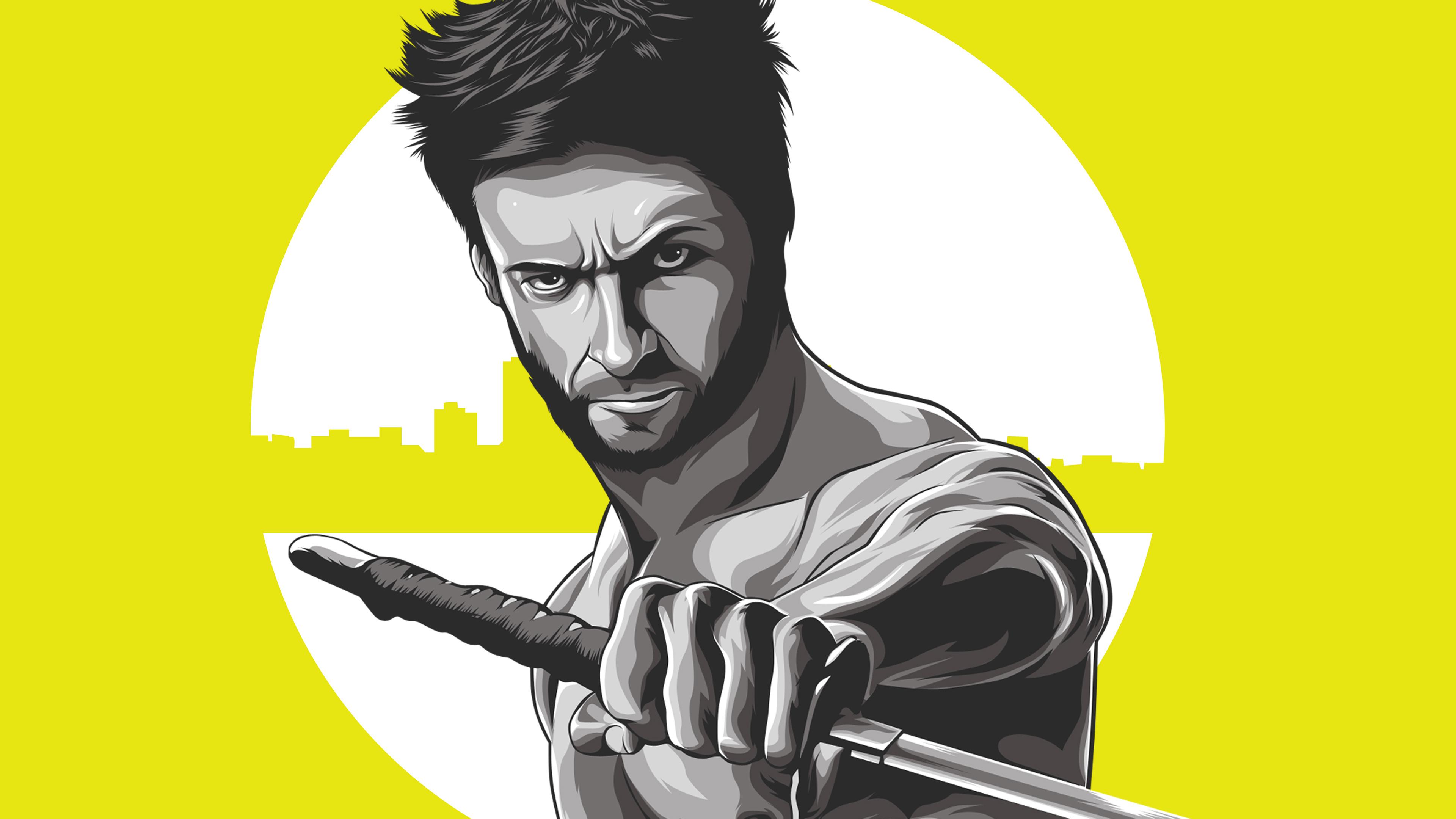 wolverine 4k illustration 1562106254 - Wolverine 4k Illustration - wolverine wallpapers, superheroes wallpapers, hd-wallpapers, artwork wallpapers, 4k-wallpapers