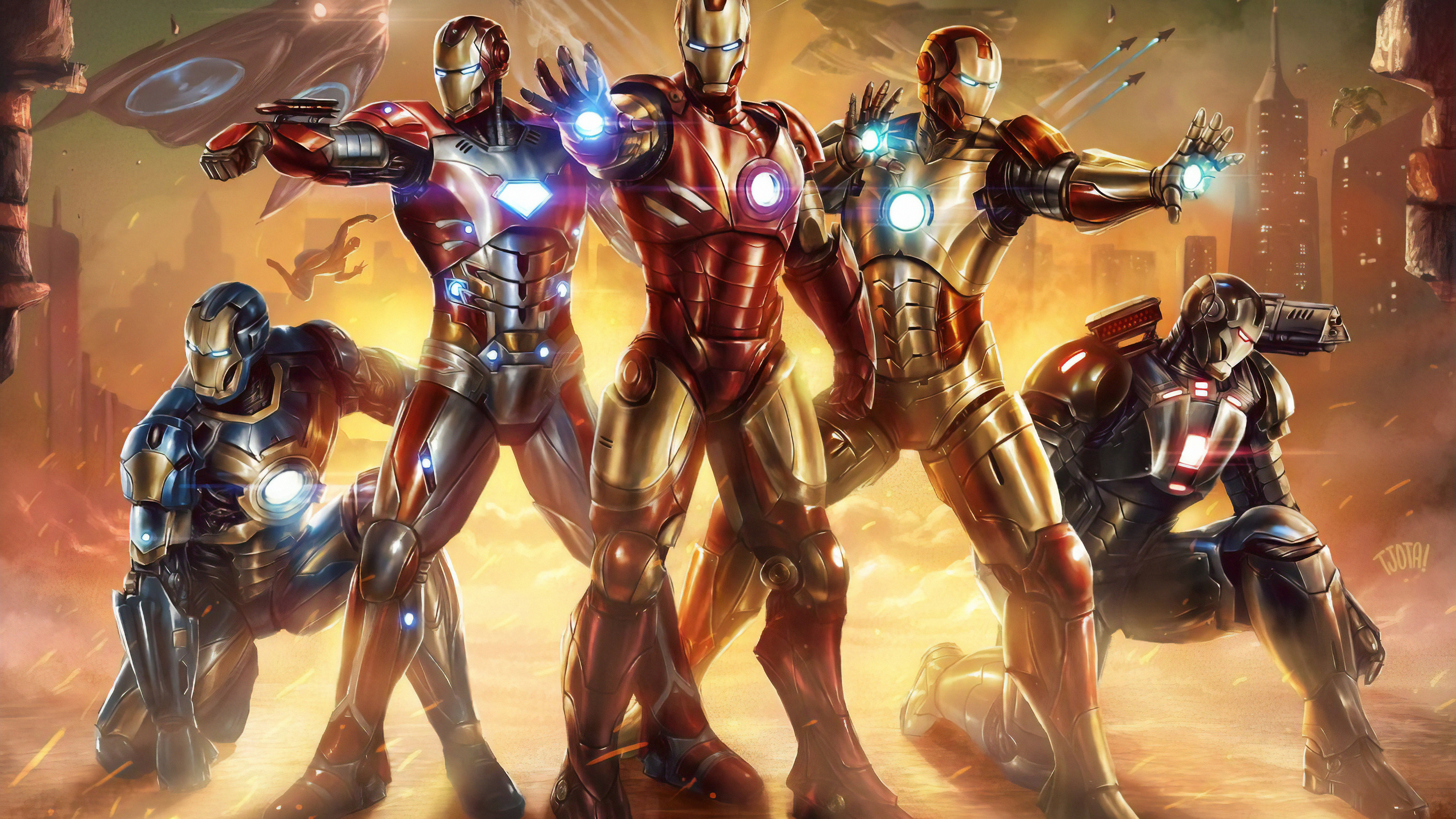 all iron man suit 1565053437 - All Iron Man Suit - superheroes wallpapers, iron man wallpapers, hd-wallpapers, deviantart wallpapers, artwork wallpapers, artist wallpapers, 4k-wallpapers