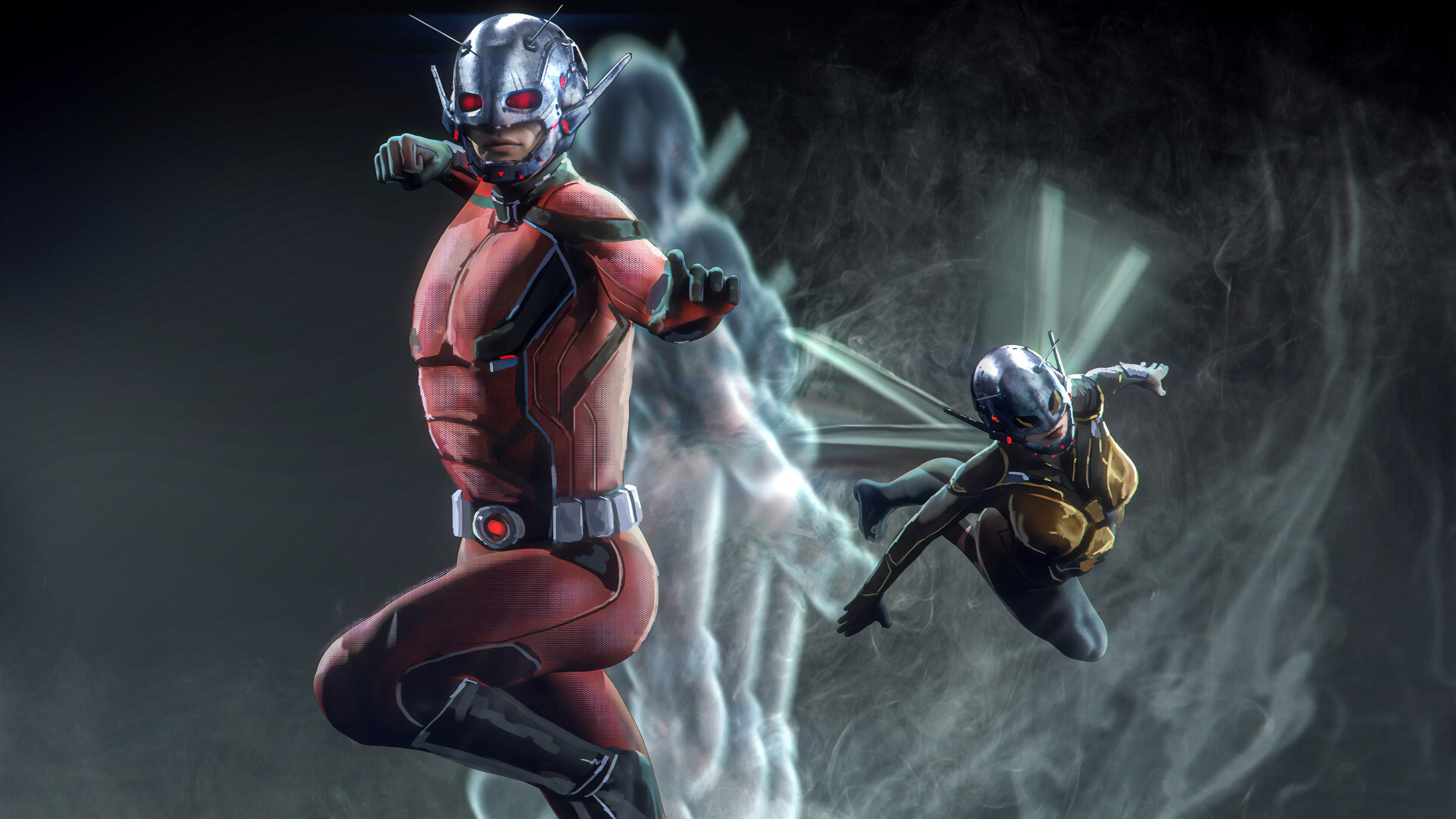 ant man and wasp marvel superheroes 1565052760 - Ant Man And Wasp Marvel Superheroes - wasp wallpapers, superheroes wallpapers, marvel wallpapers, hd-wallpapers, artstation wallpapers, ant man wallpapers, 4k-wallpapers