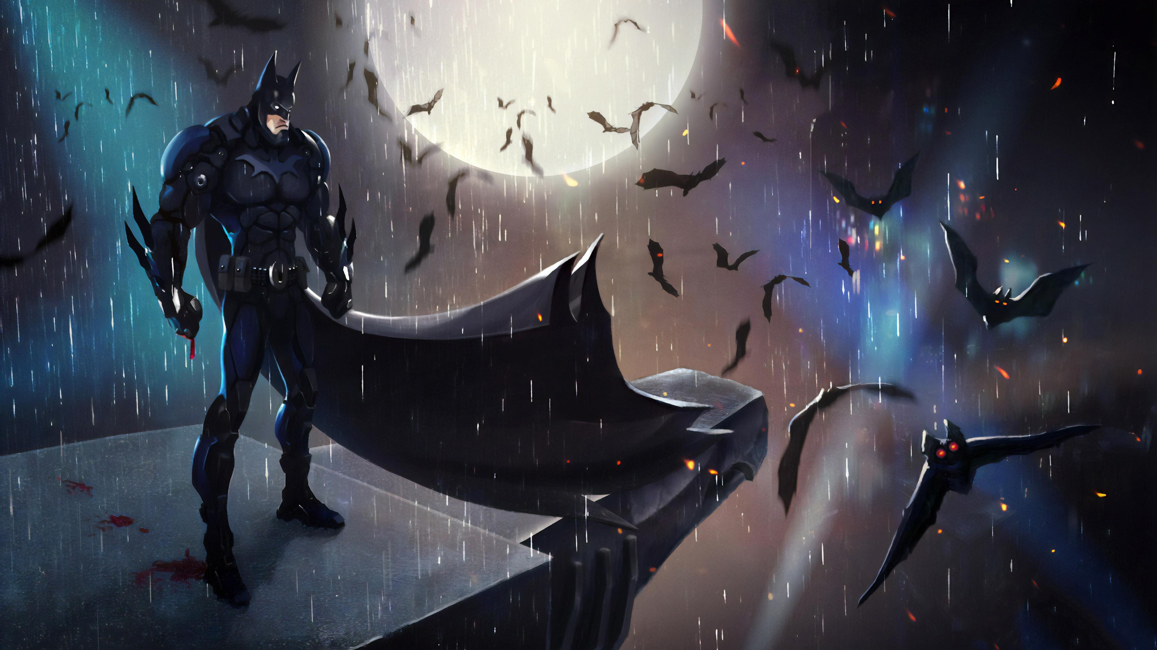 batman in the night art 1565054107 - Batman In The Night Art - superheroes wallpapers, hd-wallpapers, digital art wallpapers, batman wallpapers, artwork wallpapers, artstation wallpapers, 4k-wallpapers